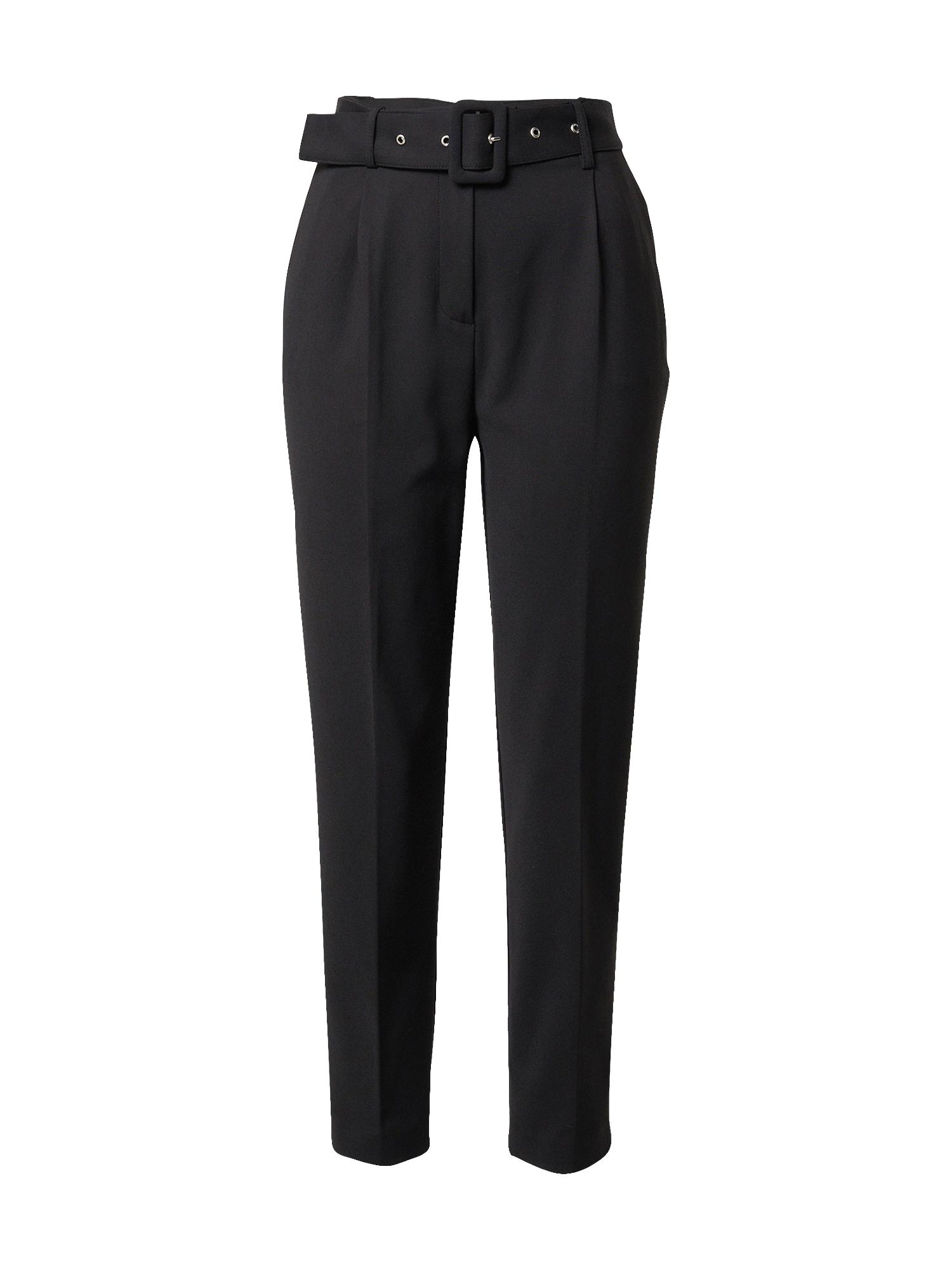 SELECTED FEMME Kalhoty se sklady v pase 'Jose'  černá