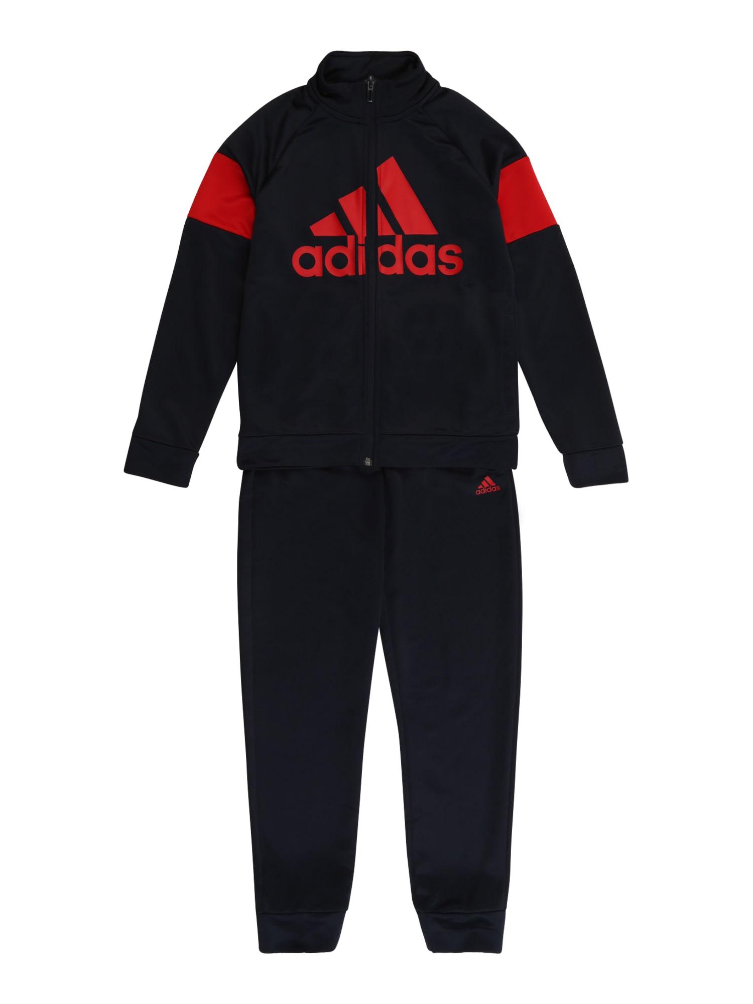 ADIDAS PERFORMANCE Sportovní oblečení  tmavě modrá / červená
