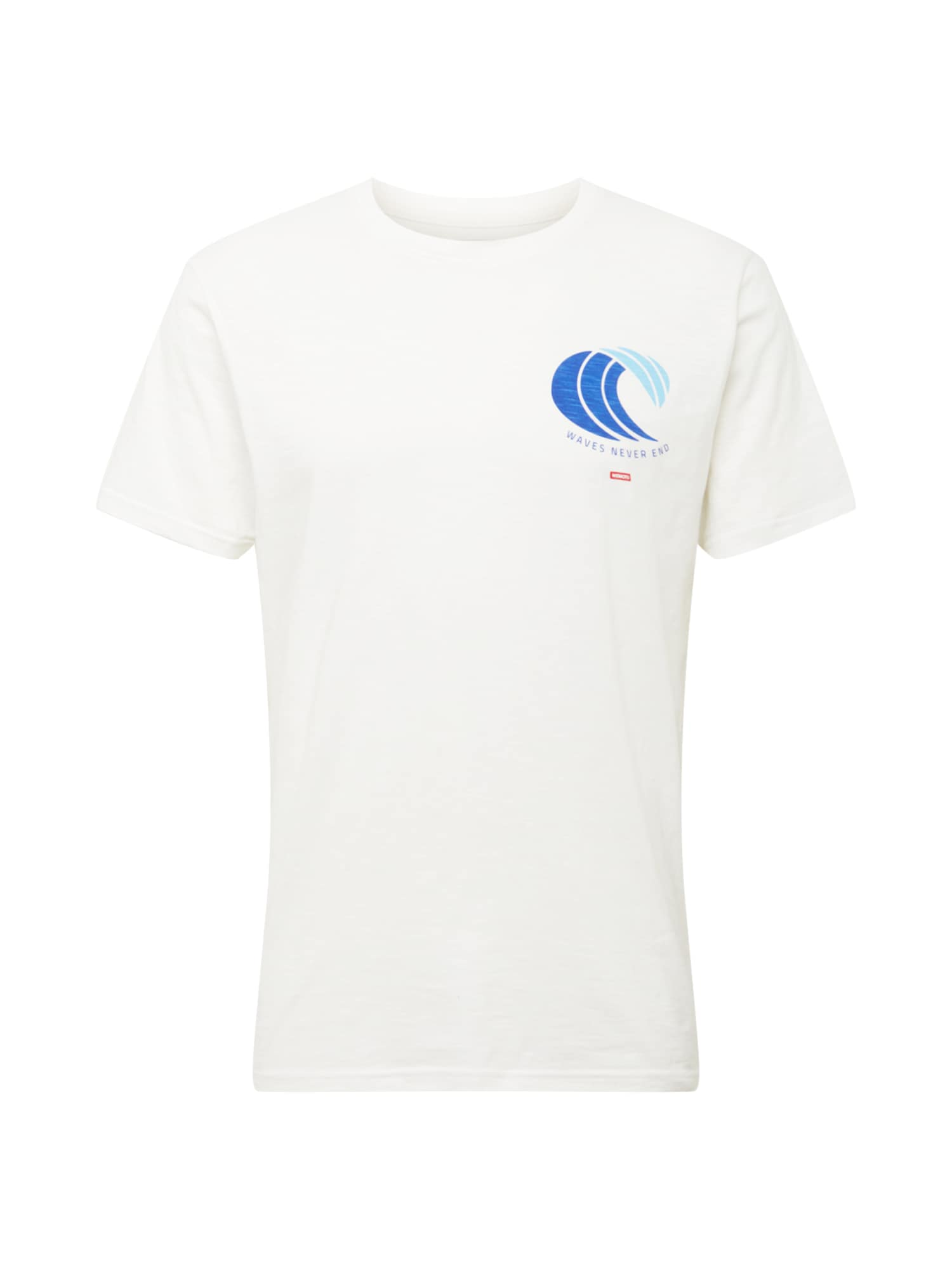 Wemoto Marškinėliai balkšva / turkio spalva / dangaus žydra