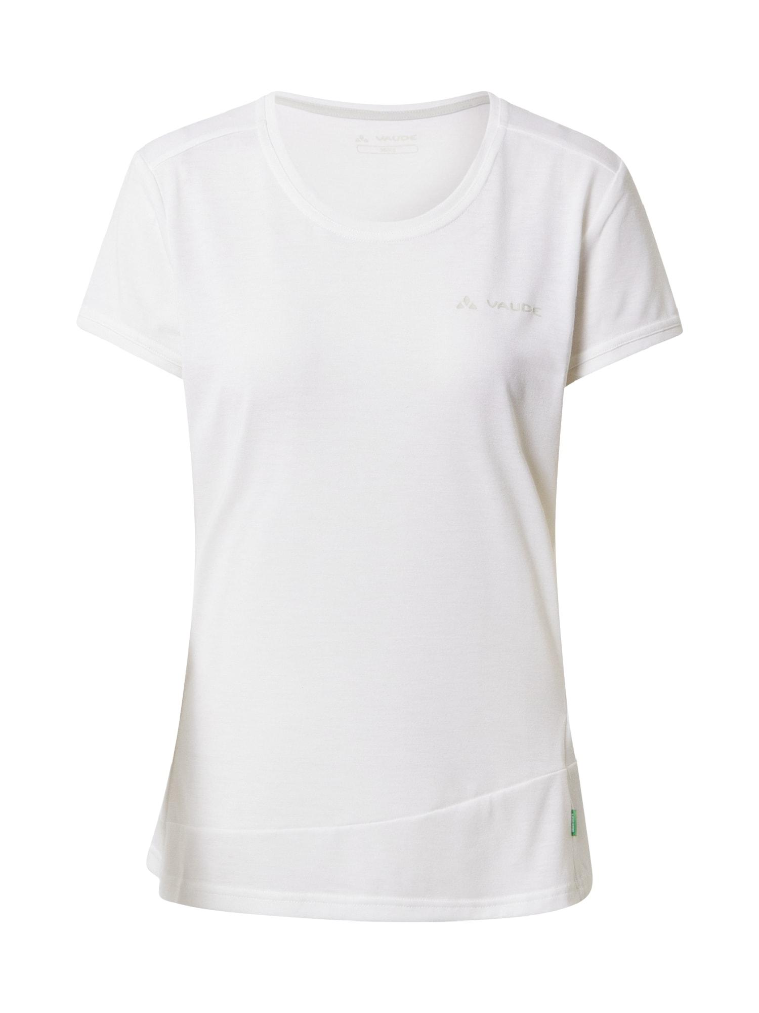 VAUDE Sportiniai marškinėliai balta