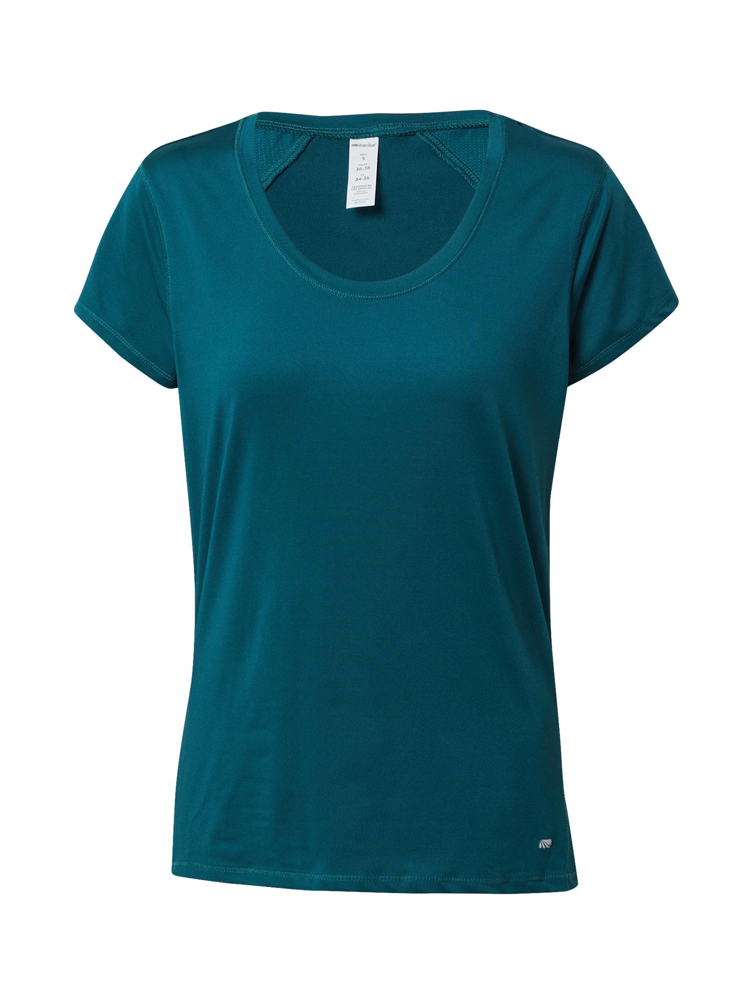 Marika Funkční tričko 'TRISHA'  petrolejová