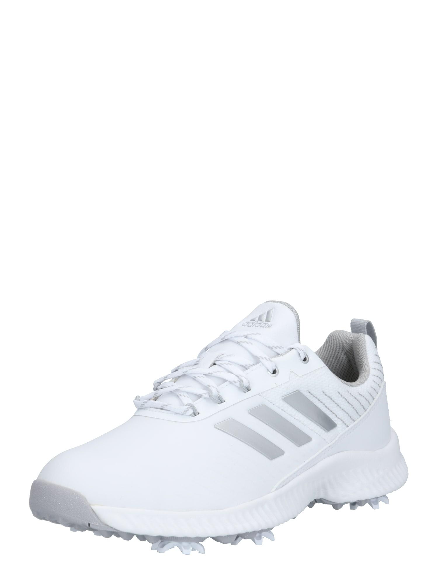adidas Golf Sportiniai batai 'Response Bounce 2' sidabrinė / balta