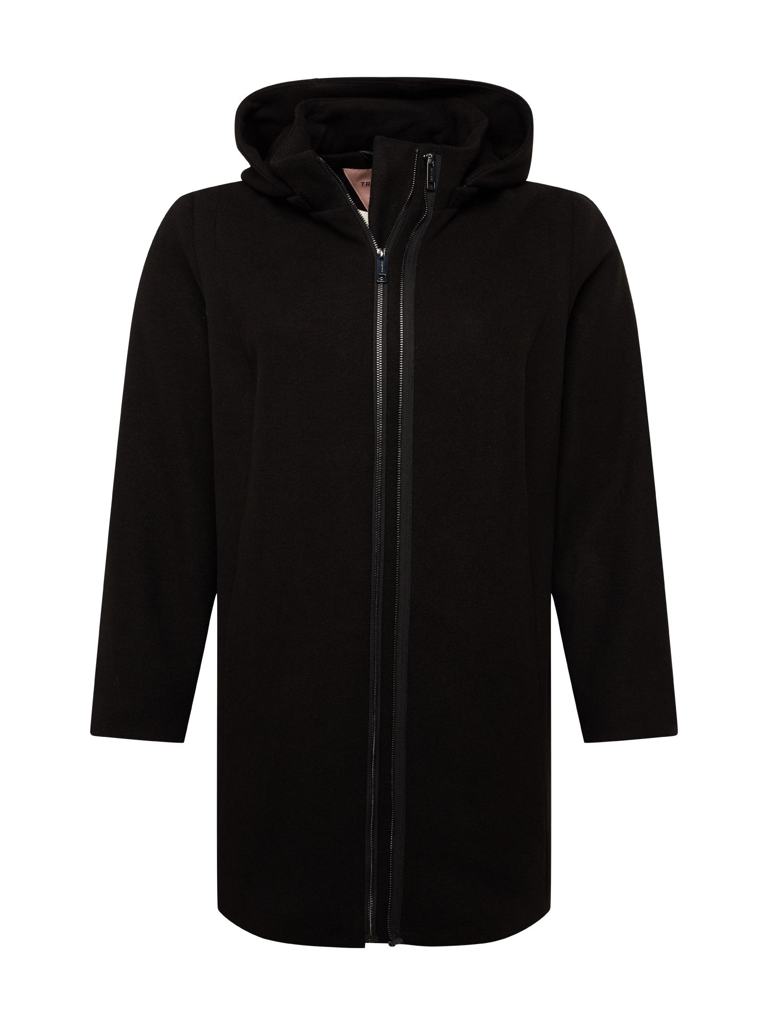 TRIANGLE Zimní kabát  černá