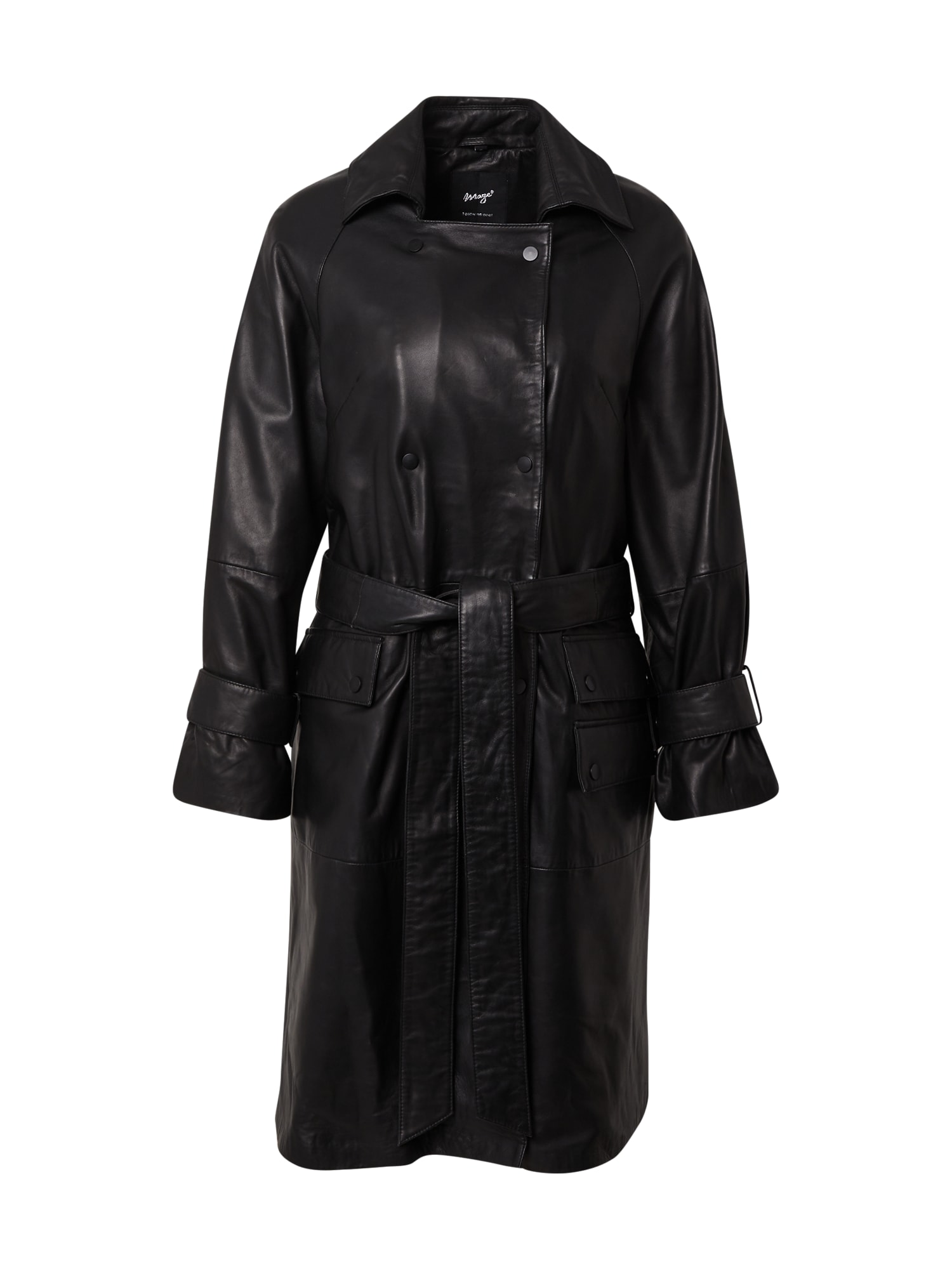 Maze Demisezoninis paltas juoda