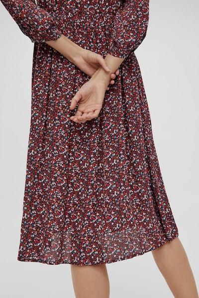 Y.A.S Vicky mittellanges Button-down-Kleid mit 3/4-Ärmeln und Fleckenprint