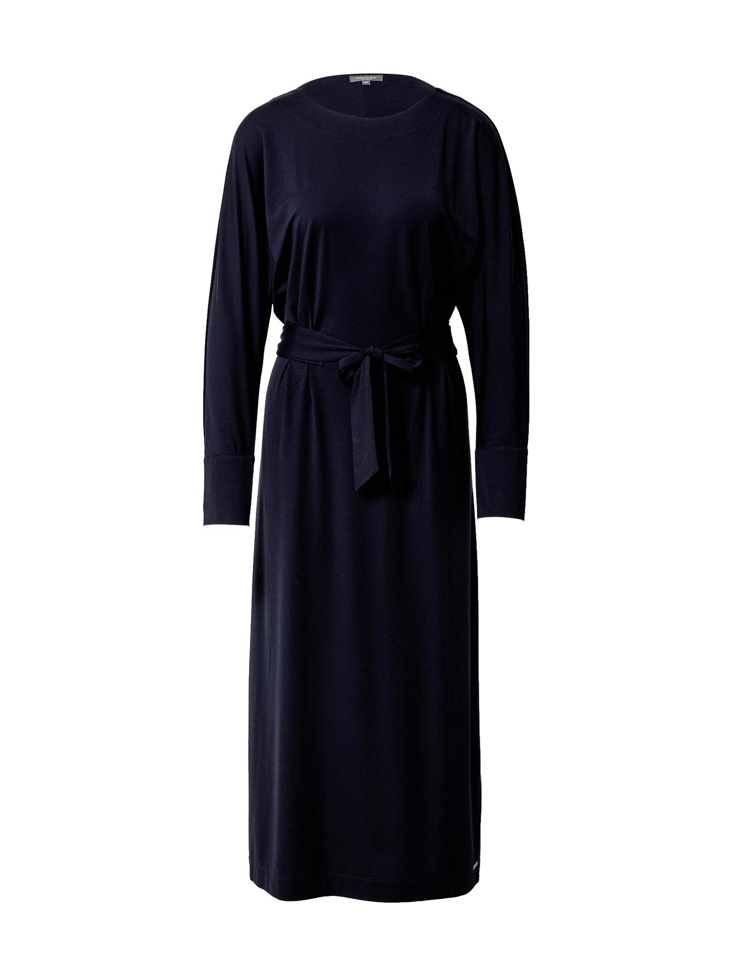 MINE TO FIVE Suknelė tamsiai mėlyna