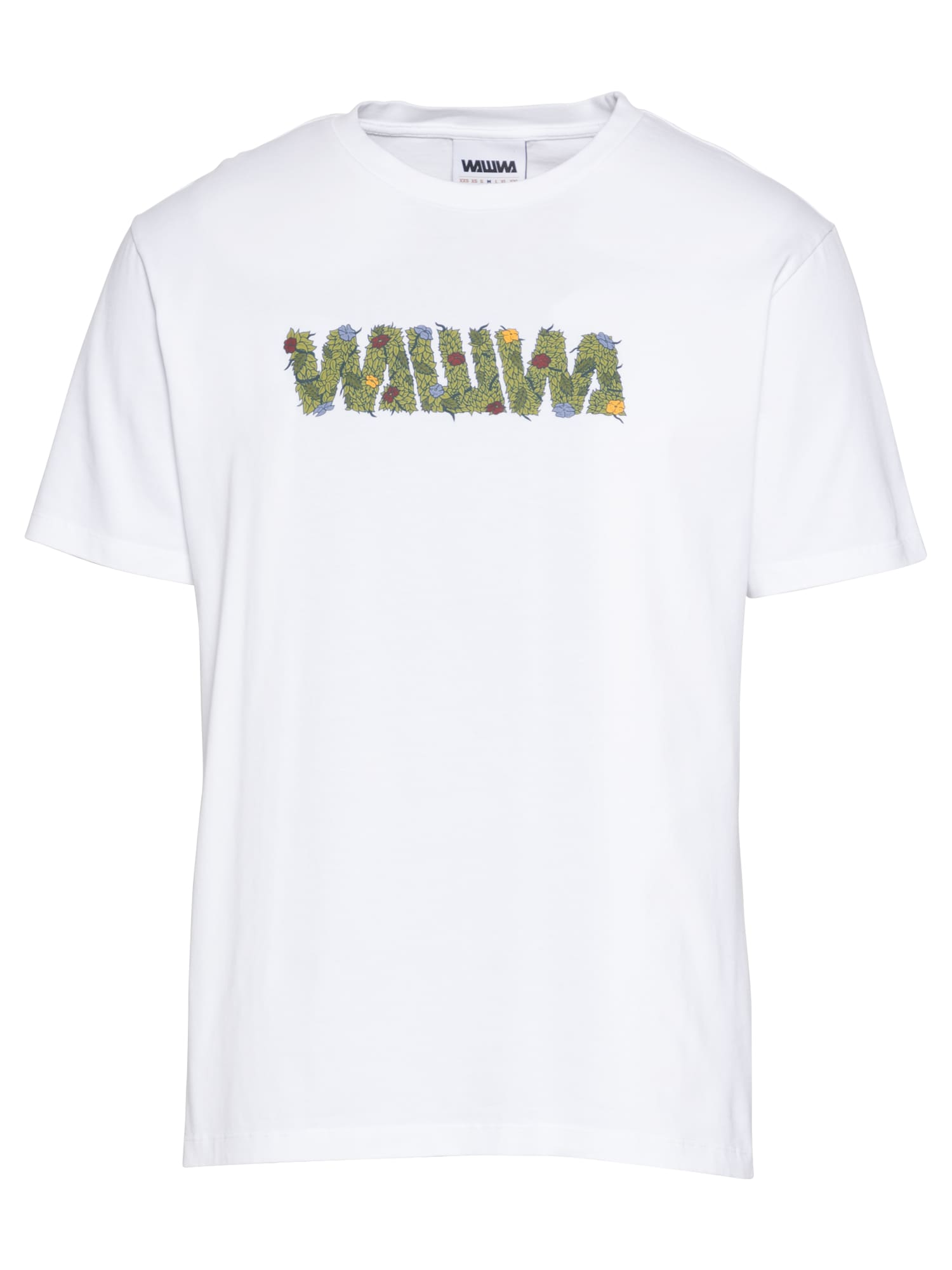 WAWWA Marškinėliai balta / šviesiai žalia / šviesiai mėlyna / raudona / geltona