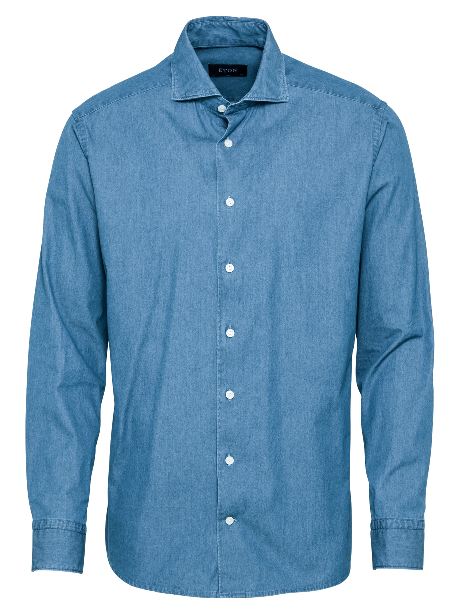 ETON Marškiniai tamsiai (džinso) mėlyna
