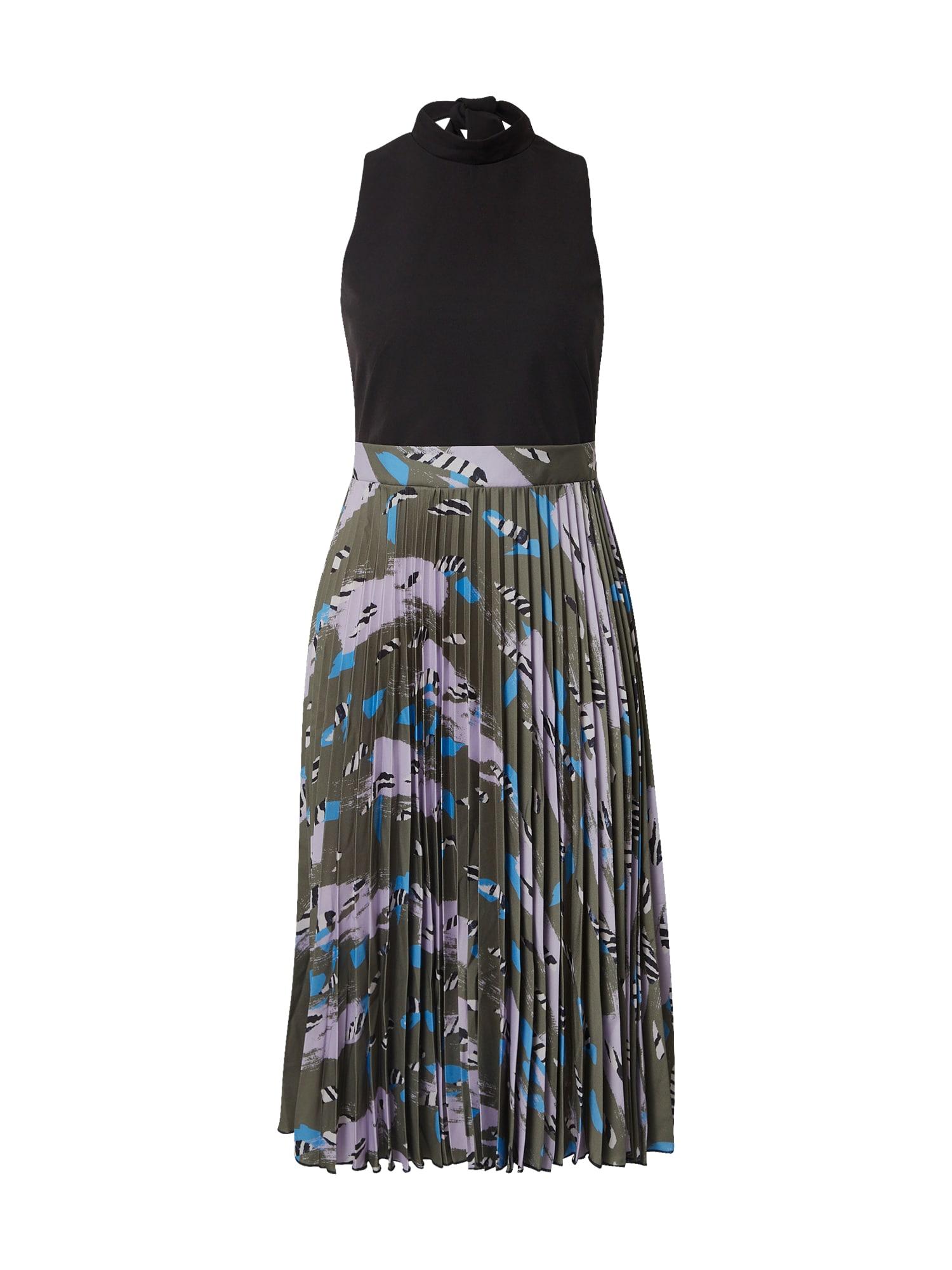 Closet London Suknelė alyvuogių spalva / mišrios spalvos