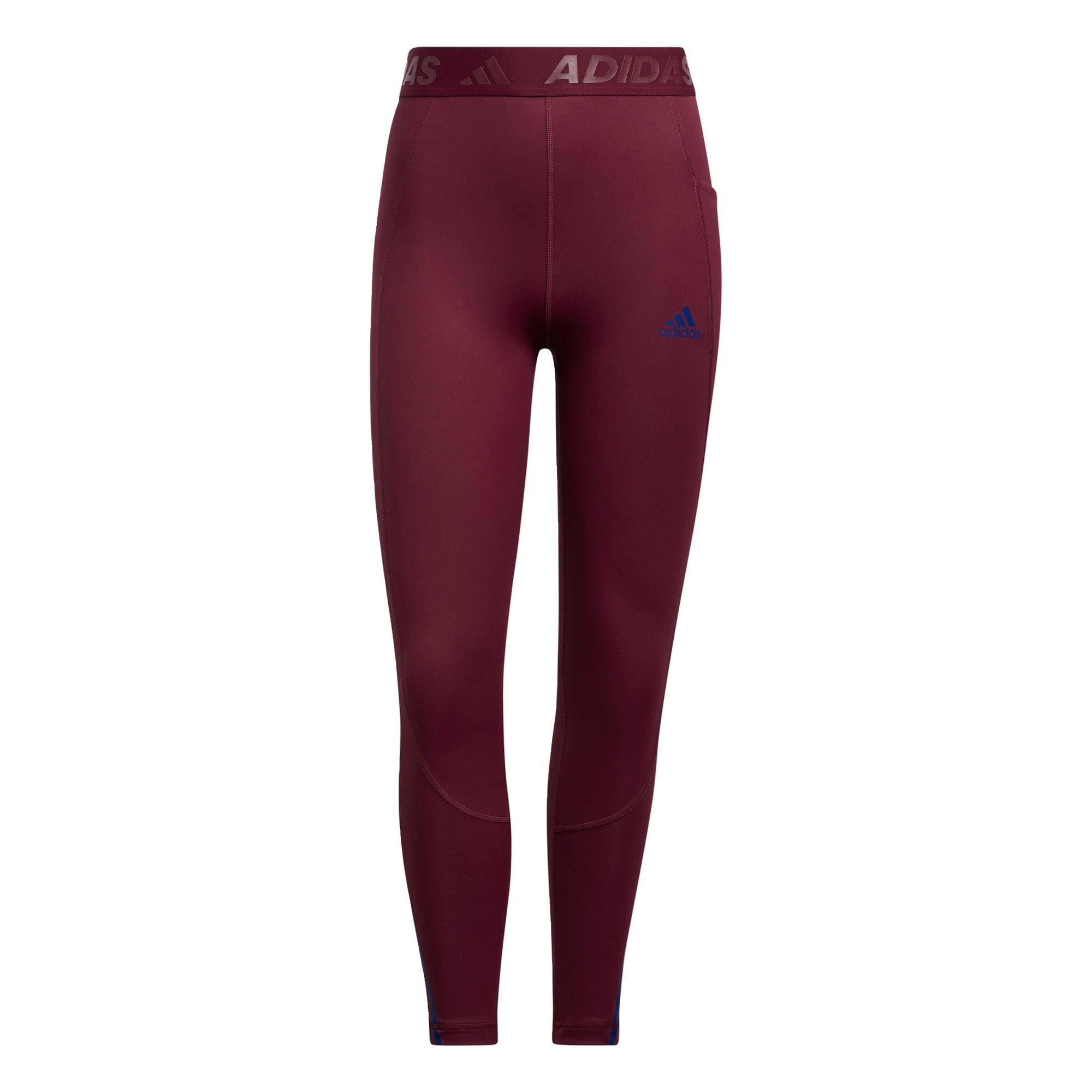 ADIDAS PERFORMANCE Sportovní kalhoty  červená třešeň / modrá