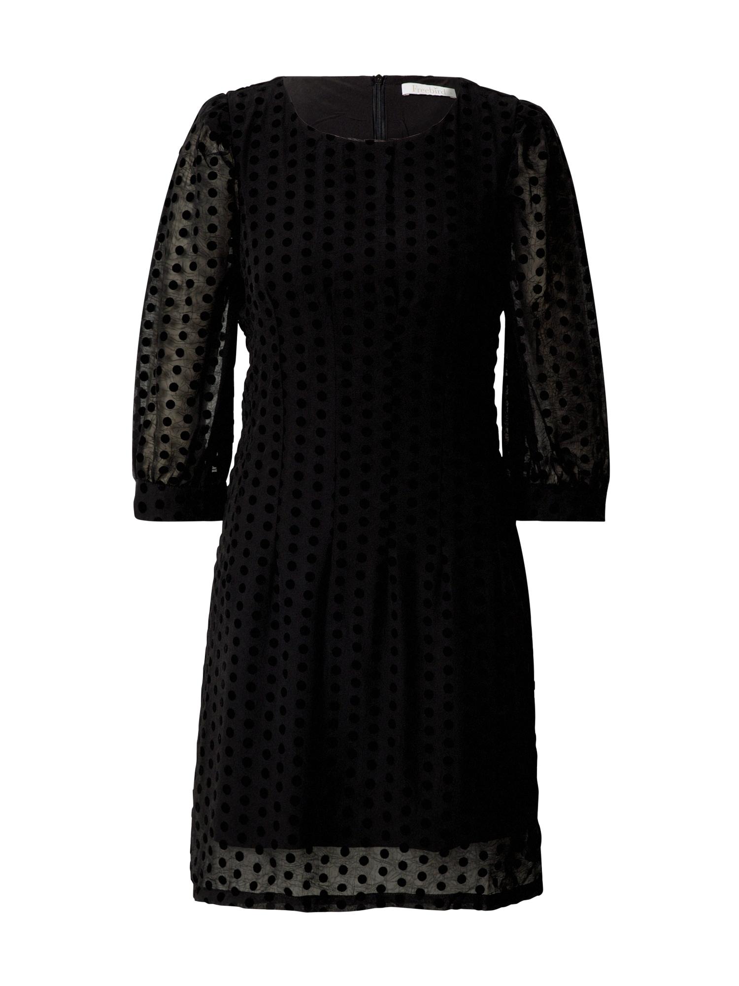 Freebird Šaty  černá