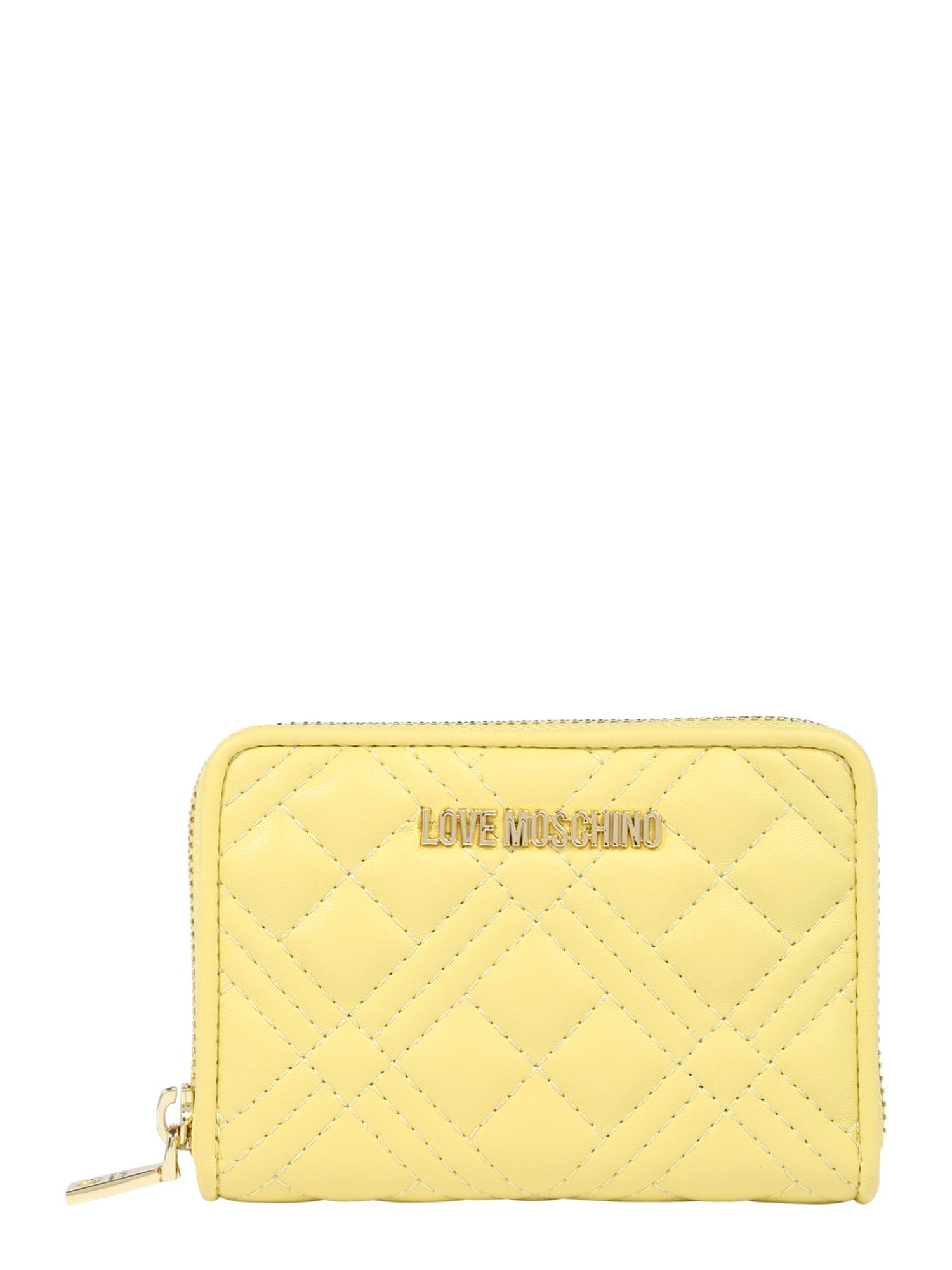 Love Moschino Piniginė geltona