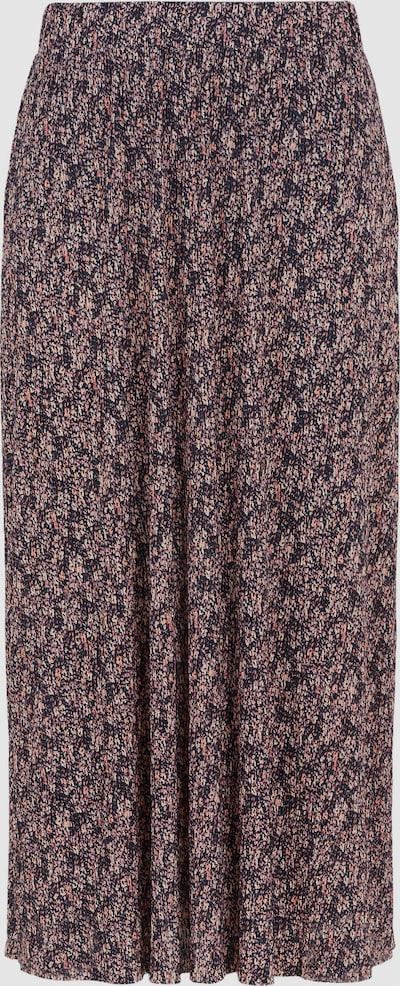 Pieces Gwena Midi-Kleid mit Blumenmotiv und hohem Bund