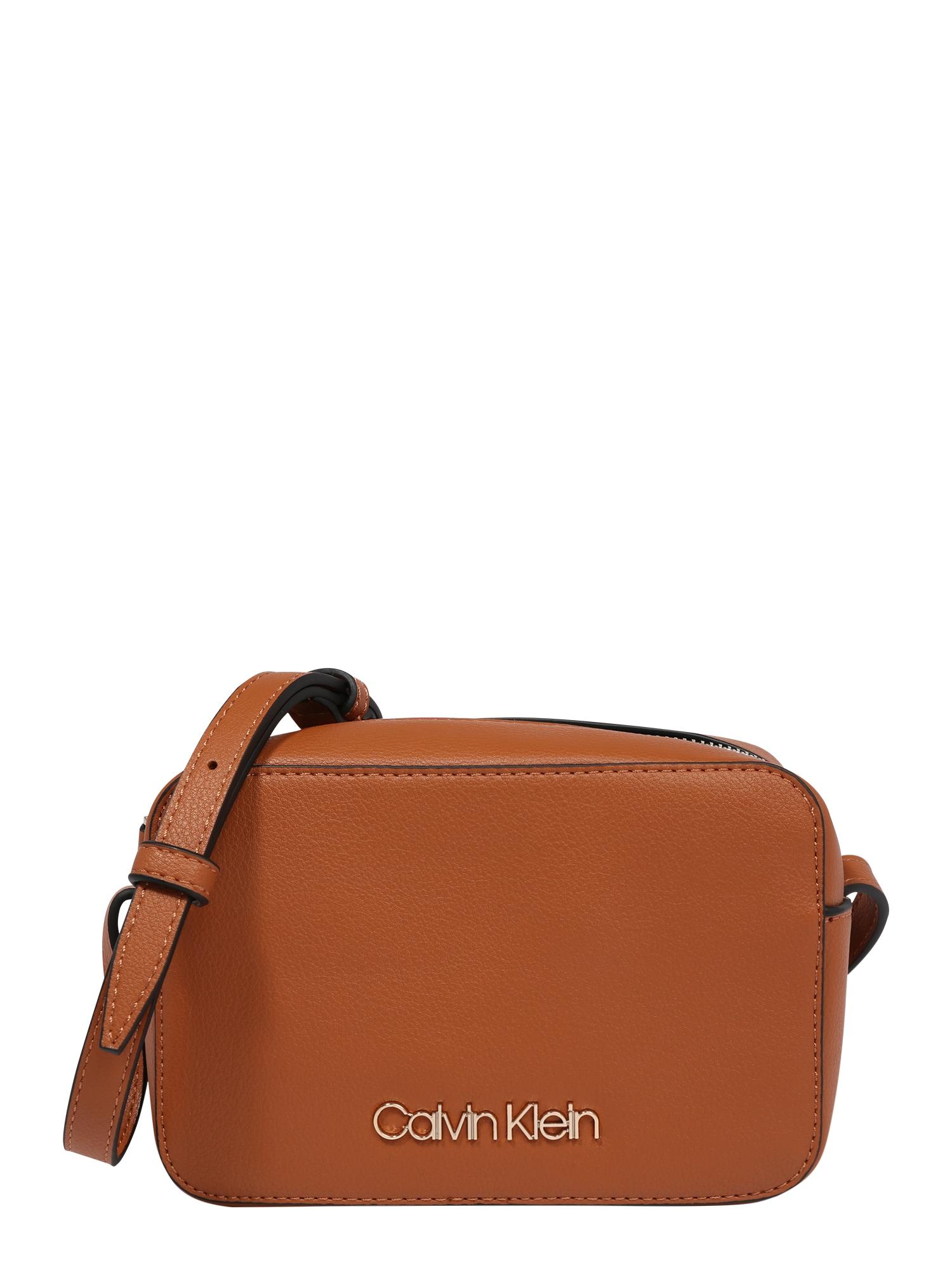 Calvin Klein Fotoaparato dėklas ruda (konjako)