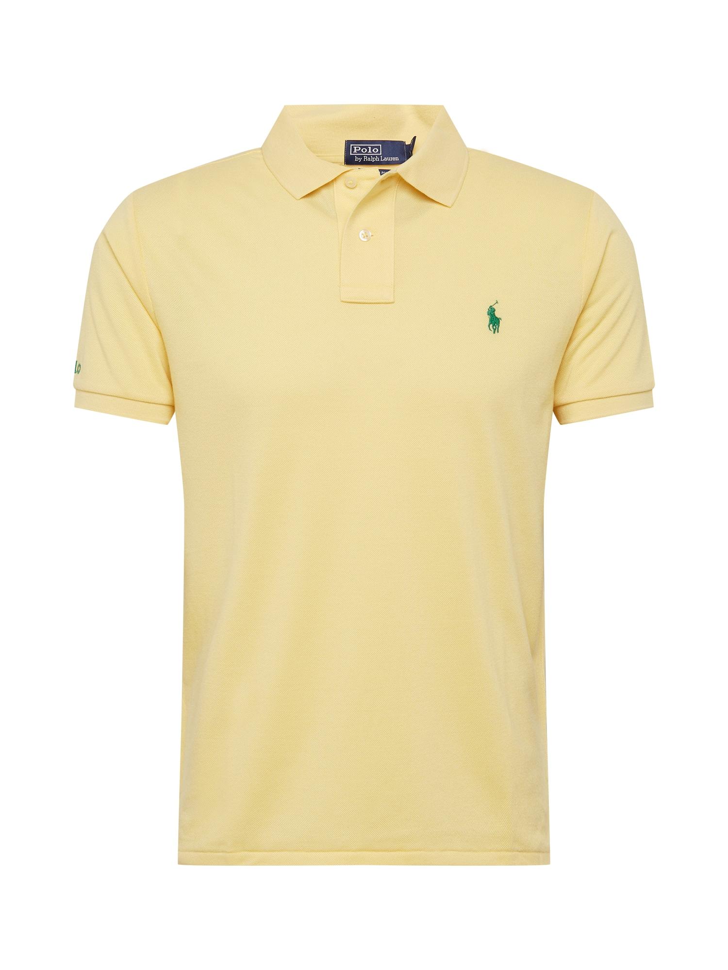 POLO RALPH LAUREN Marškinėliai pastelinė geltona