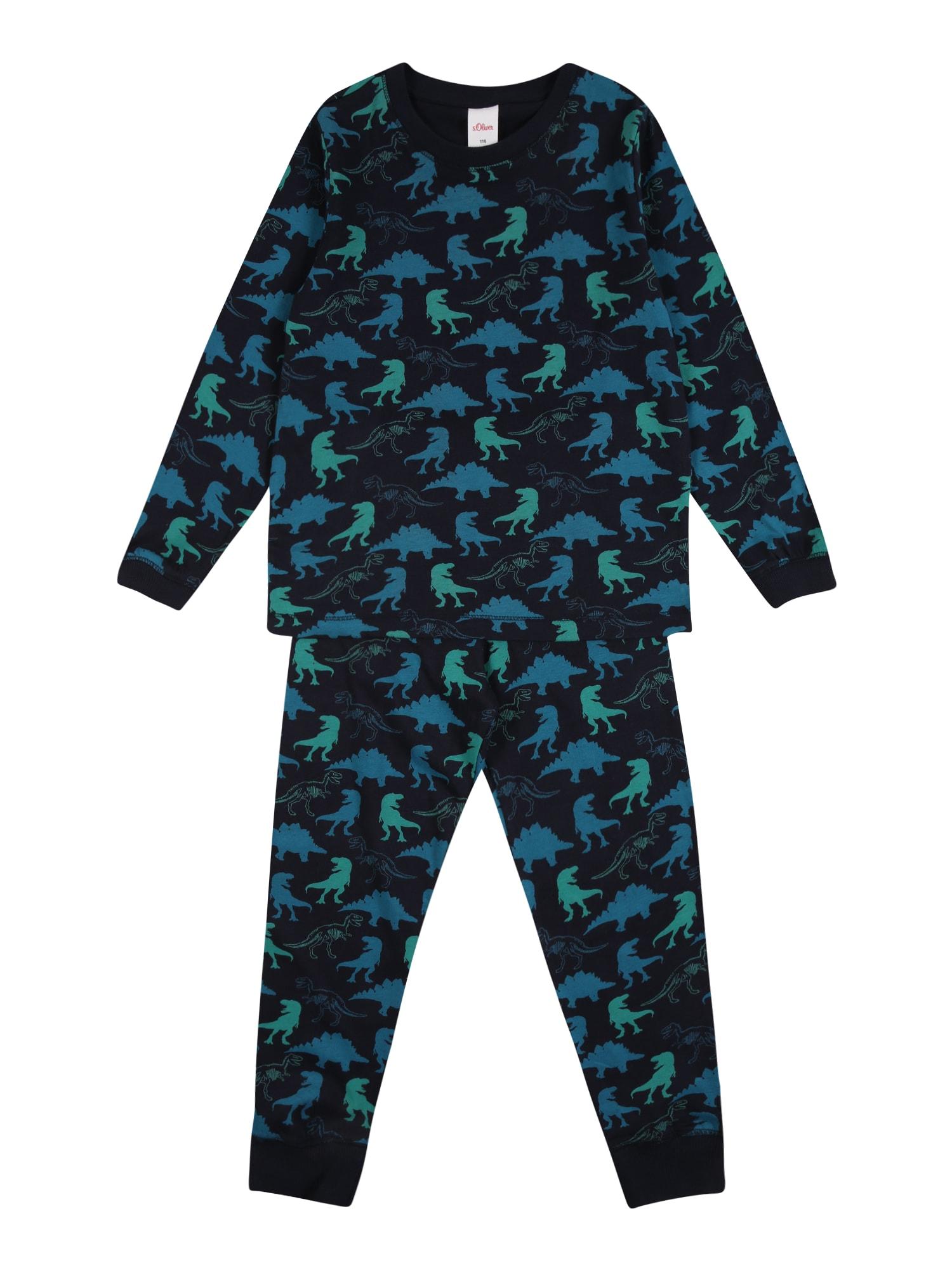 s.Oliver Junior Pyžamo  námořnická modř / mix barev