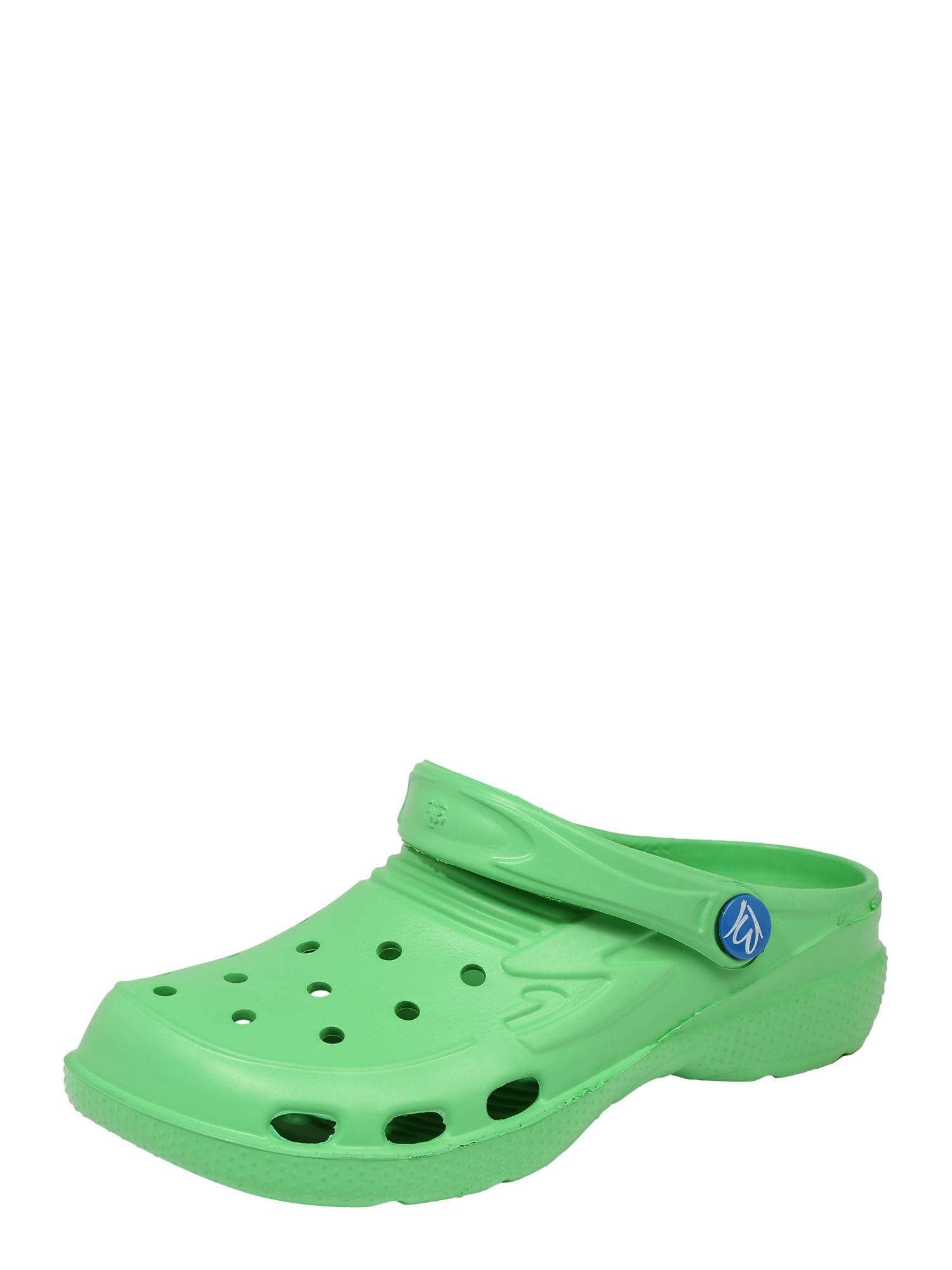 BECK Atviri batai šviesiai žalia