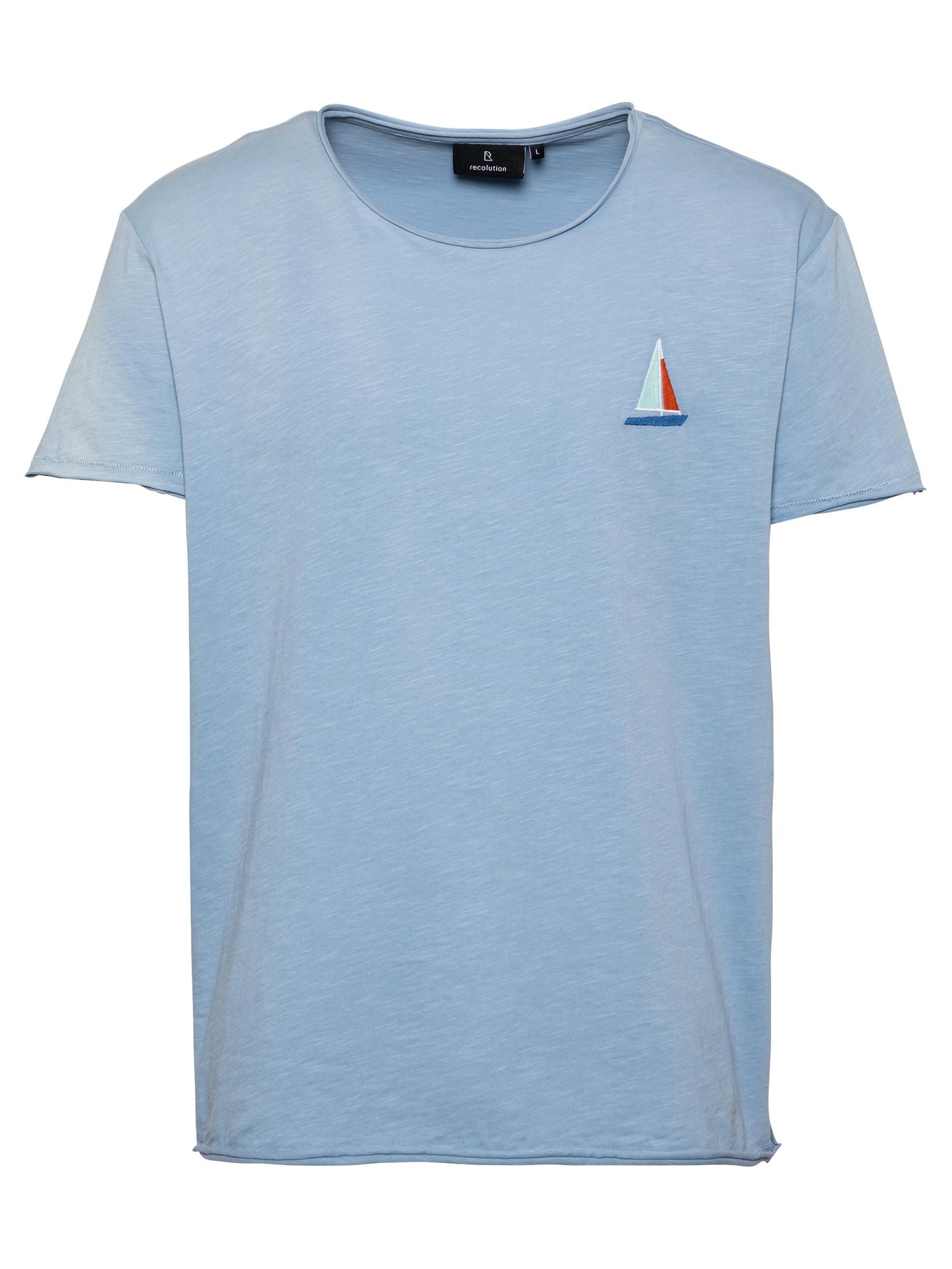 """recolution Marškinėliai sodri mėlyna (""""karališka"""")"""