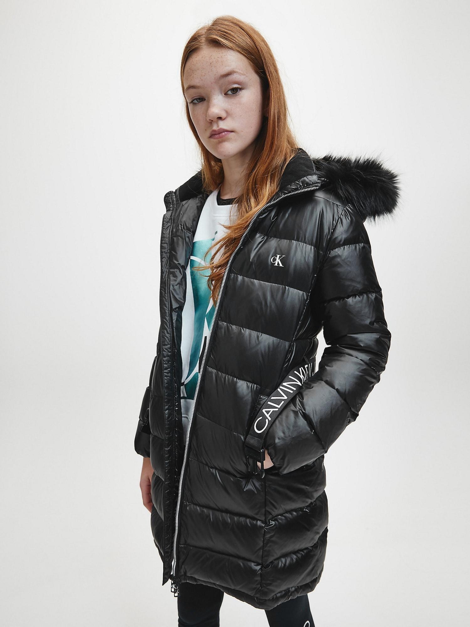 Calvin Klein Jeans Kappa  svart / vit