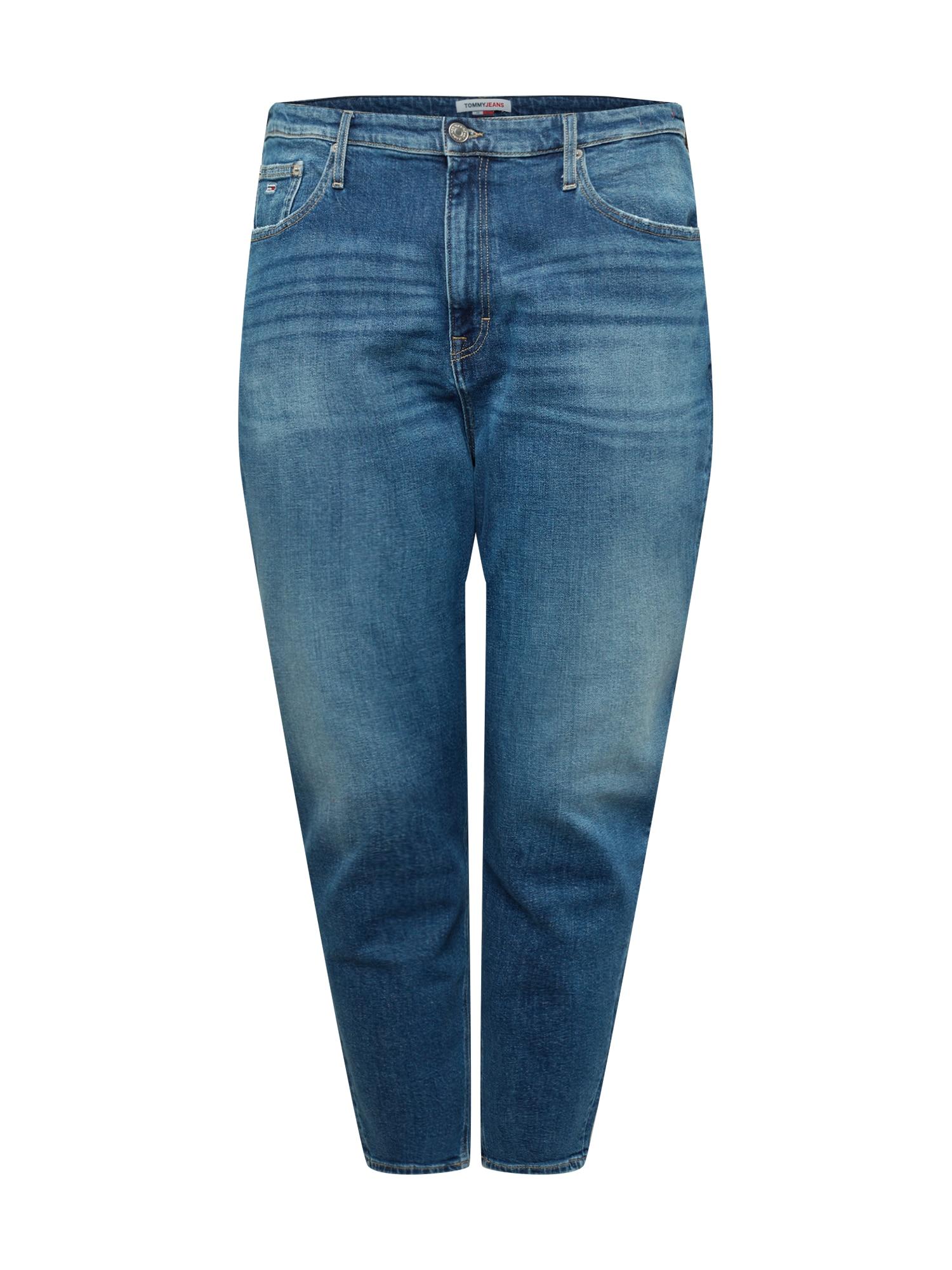 Tommy Jeans Curve Džinsai tamsiai (džinso) mėlyna