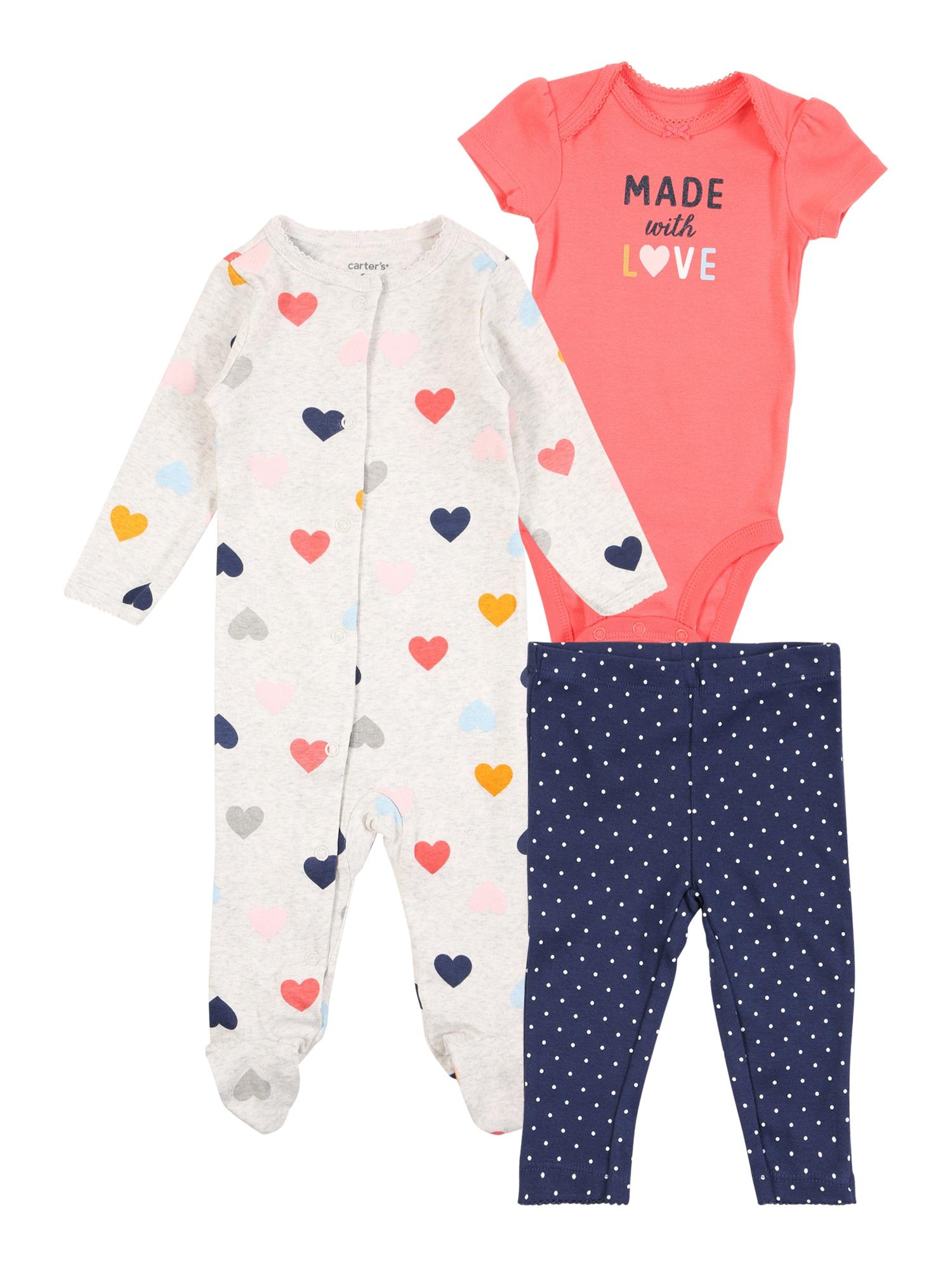 Carter's Rinkinys mišrios spalvos / tamsiai mėlyna / ryškiai rožinė spalva / aukso geltonumo spalva / šviesiai pilka