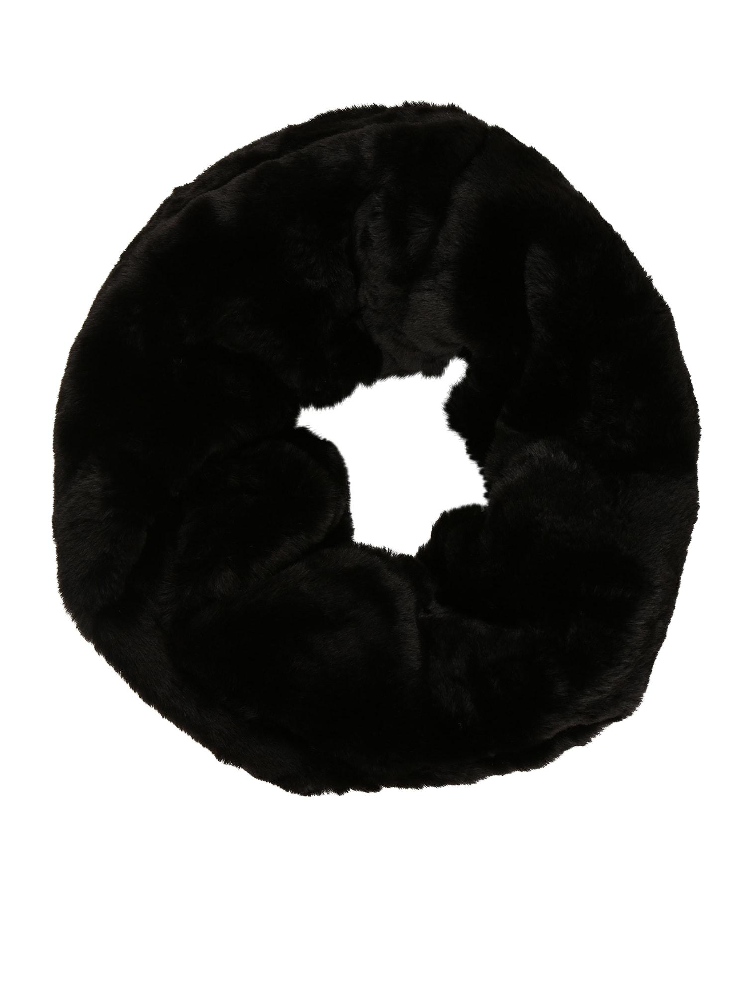 CODELLO Kruhová šála 'Modern Geos'  černá