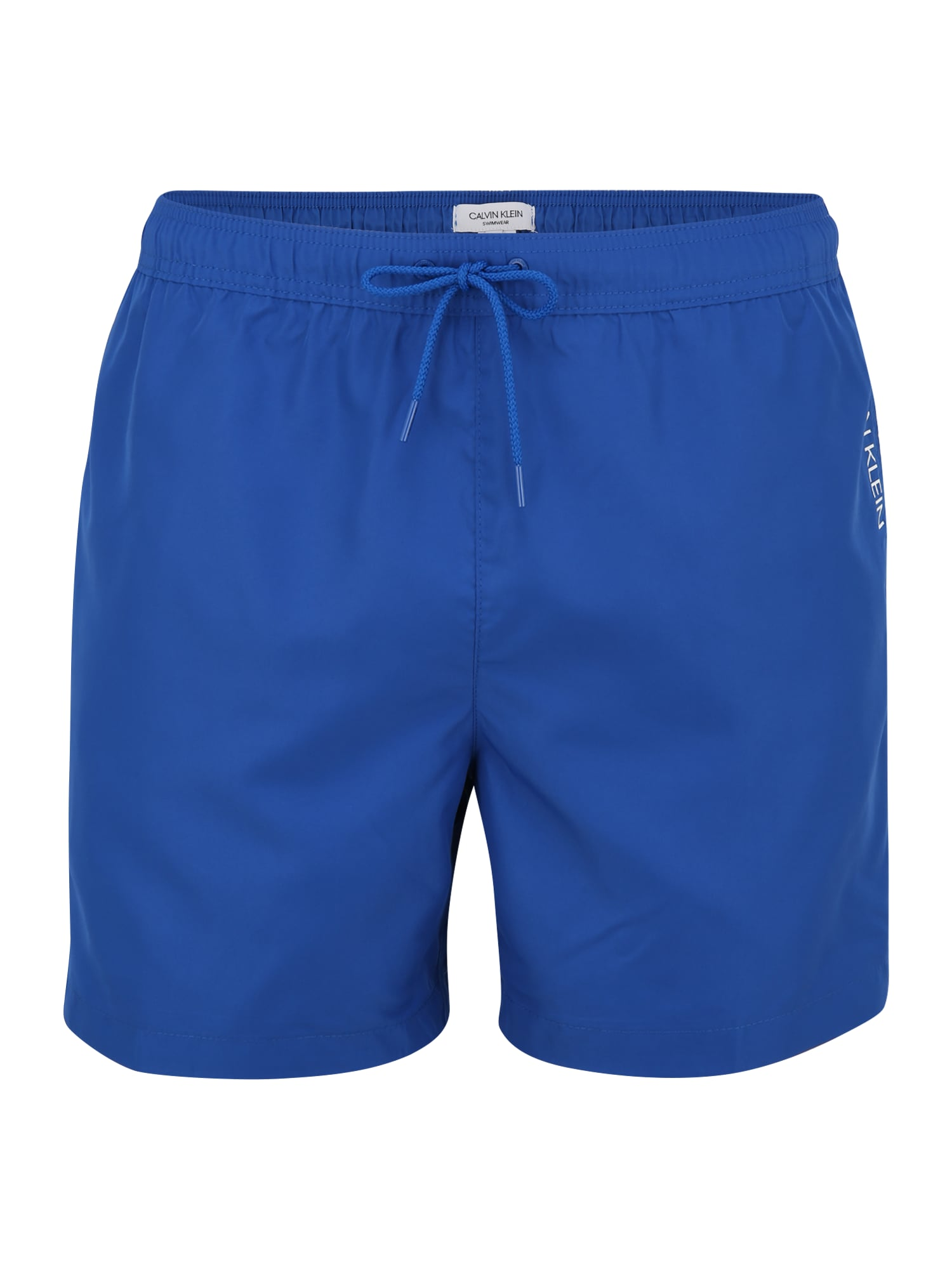 Calvin Klein Swimwear Maudymosi trumpikės mėlyna / balta