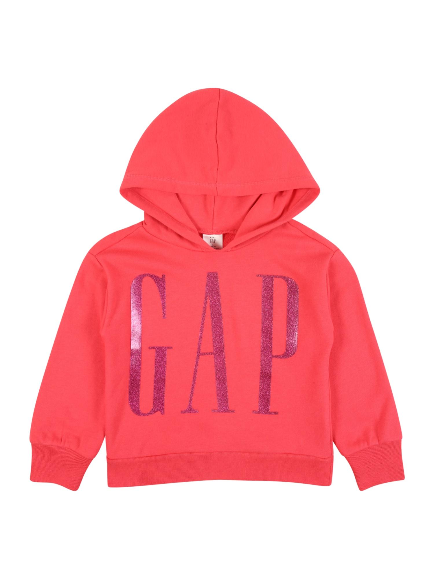 GAP Megztinis be užsegimo rožinė / purpurinė