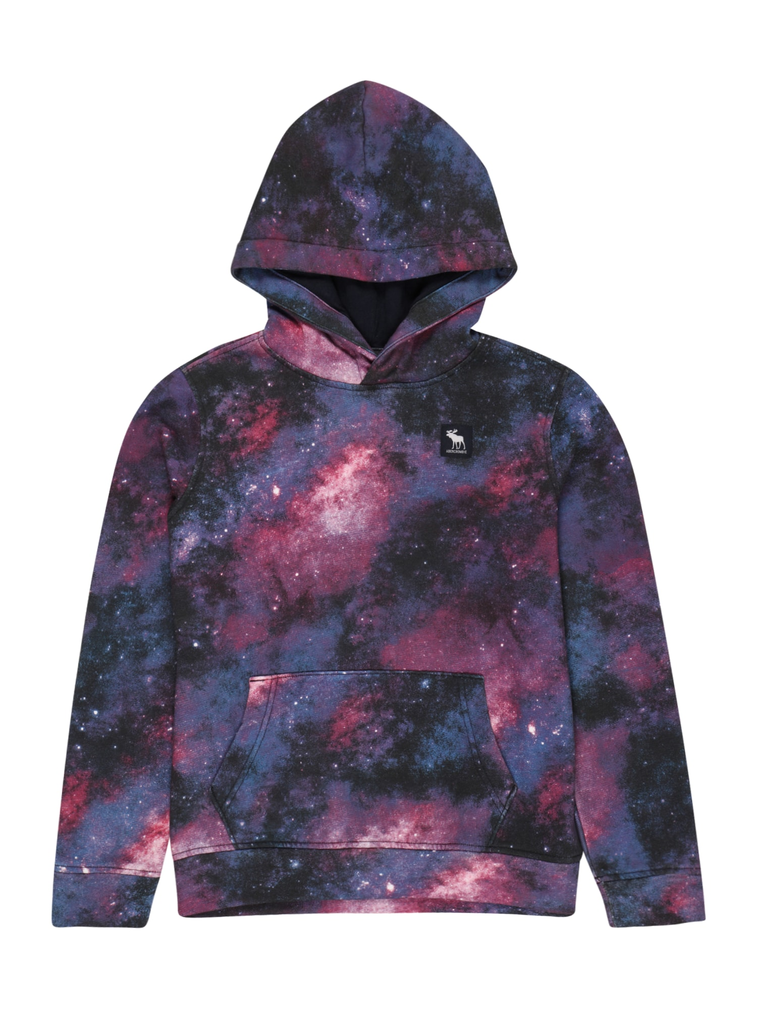 Abercrombie & Fitch Megztinis be užsegimo rožinė / tamsiai violetinė / nakties mėlyna