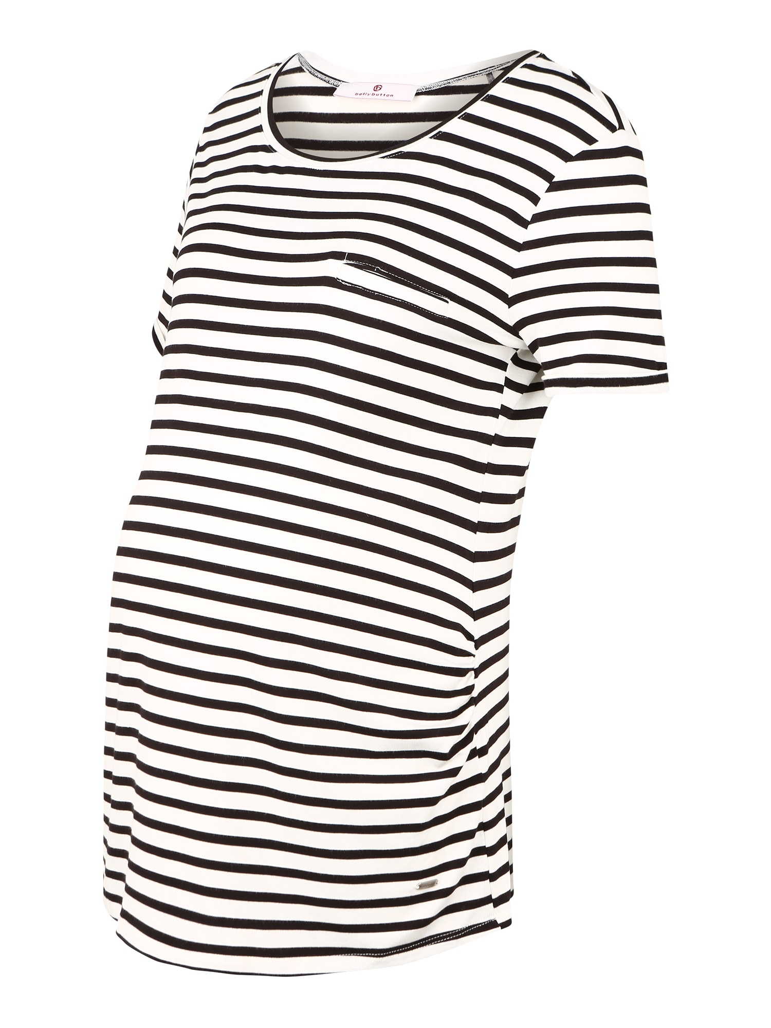 BELLYBUTTON Marškinėliai balta / juoda