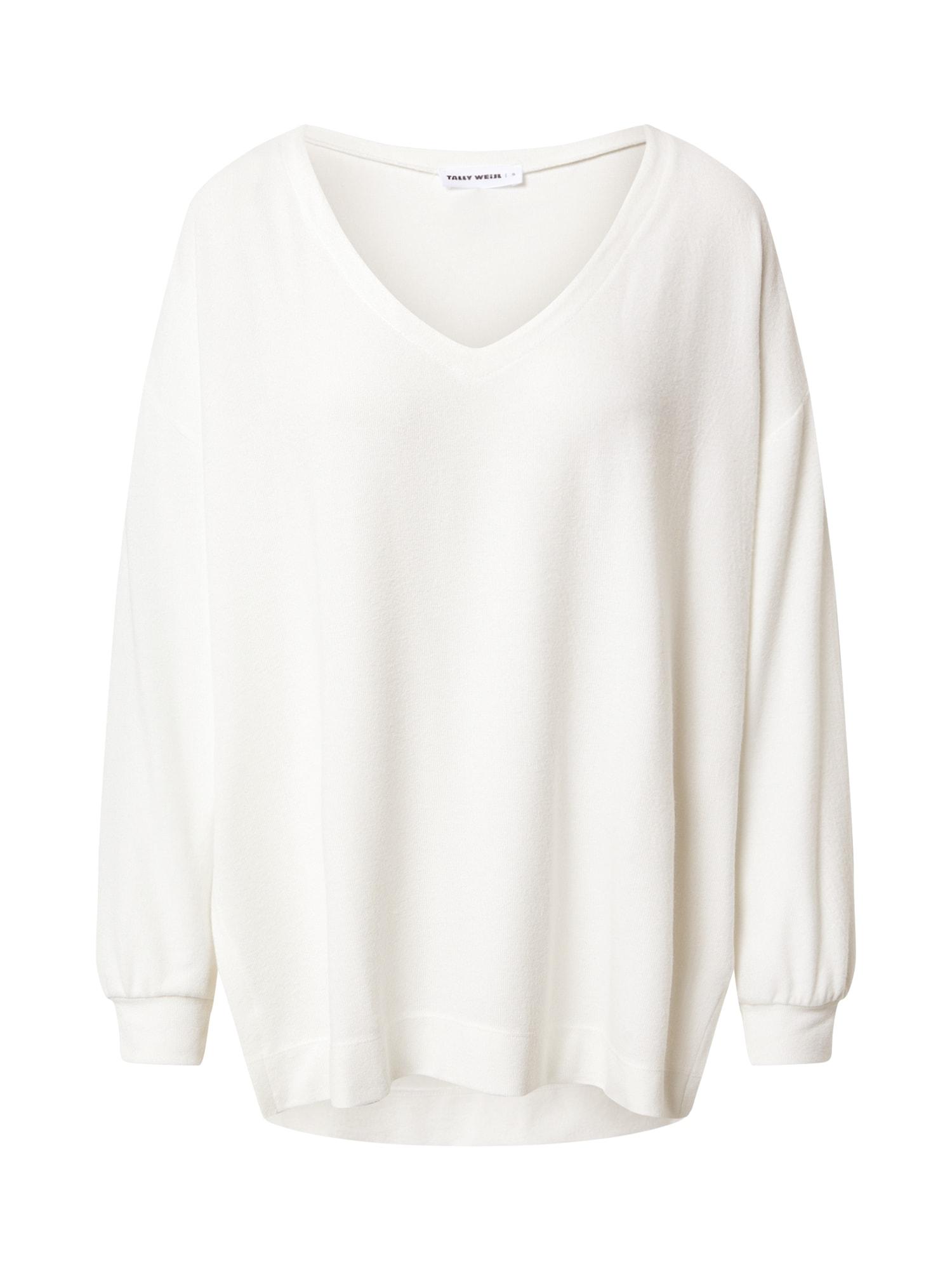 Tally Weijl Marškinėliai natūrali balta