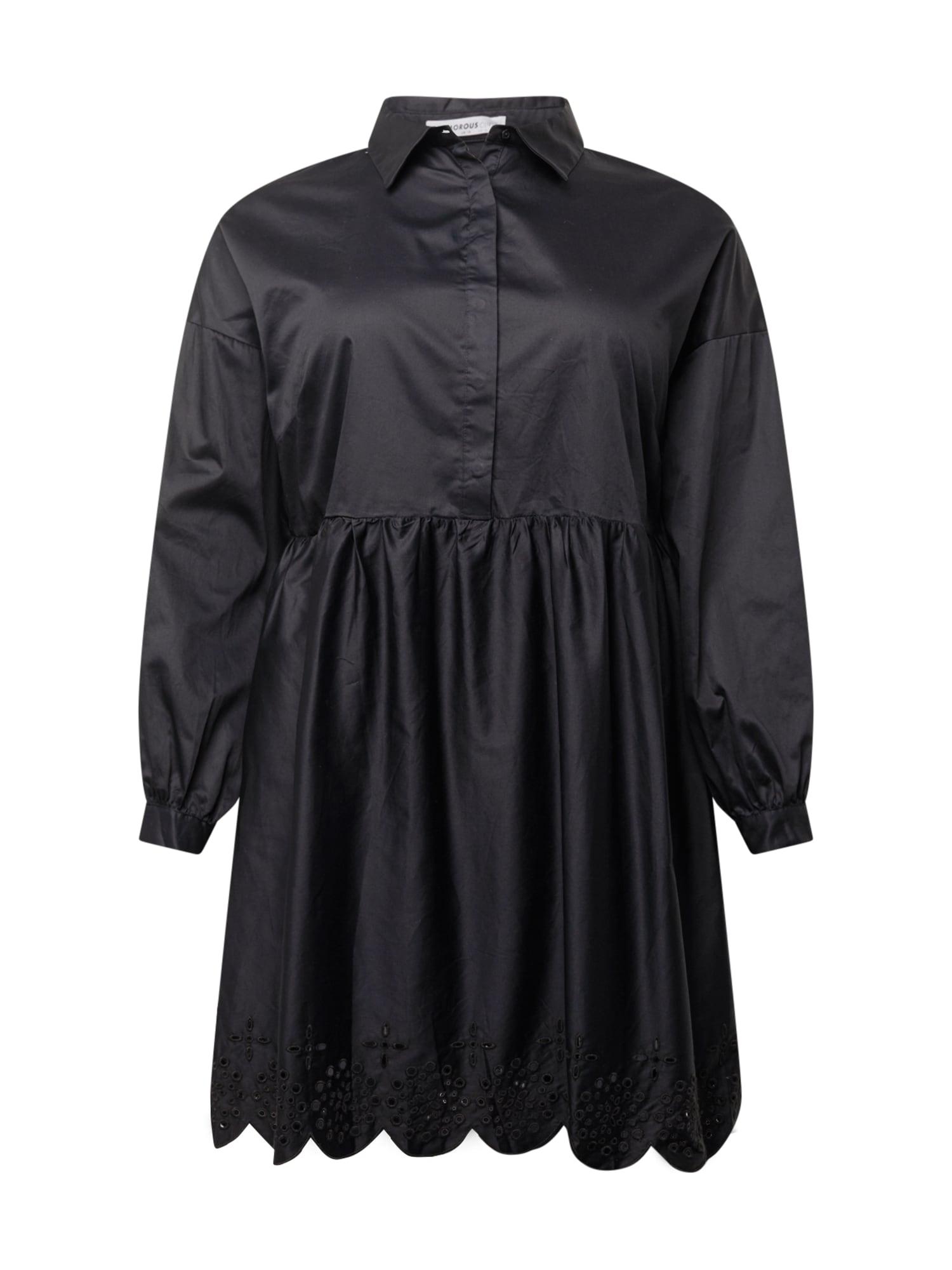 GLAMOROUS CURVE Palaidinės tipo suknelė