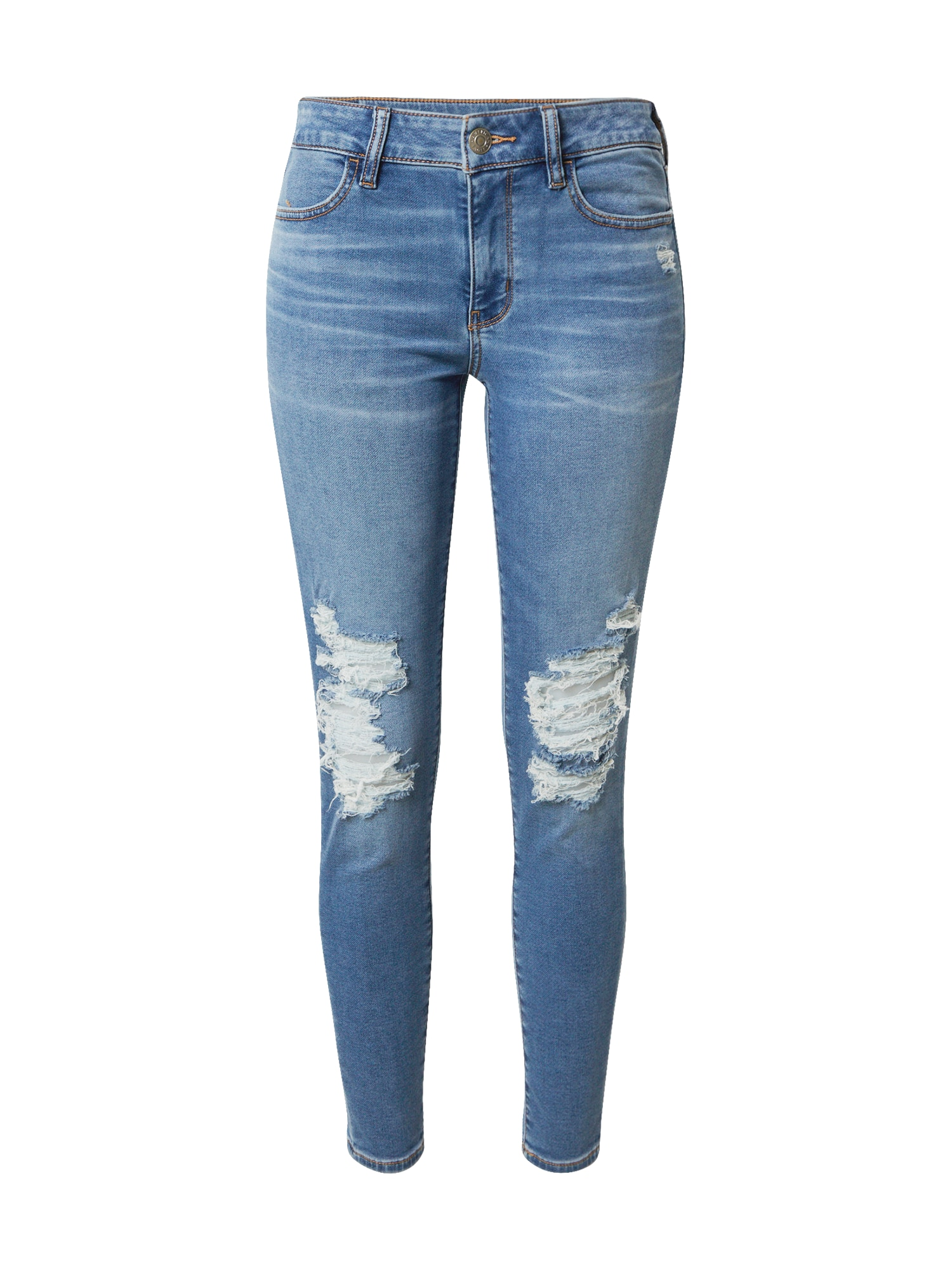 American Eagle Džegingsai tamsiai (džinso) mėlyna