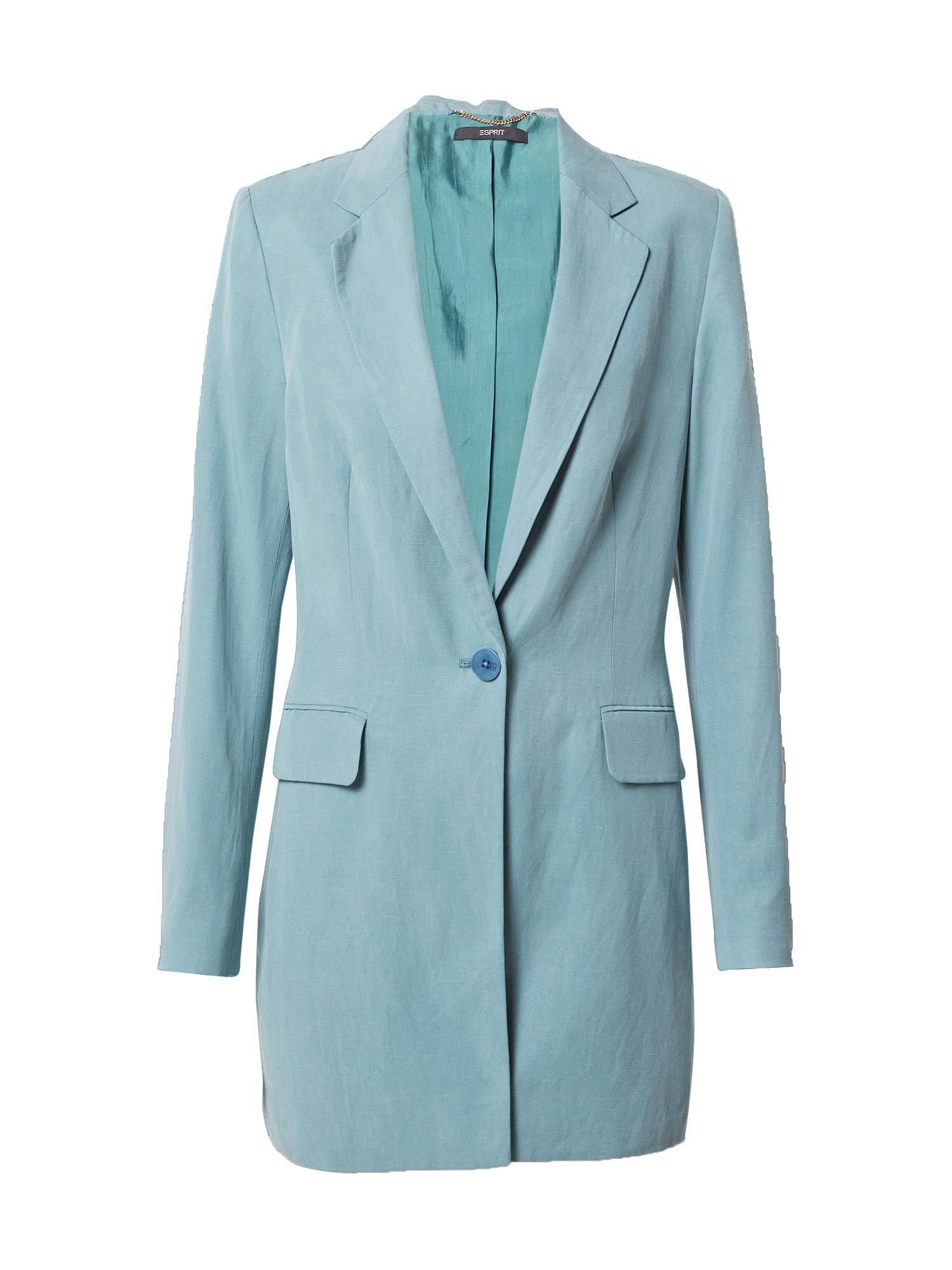 Esprit Collection Švarkas pastelinė žalia