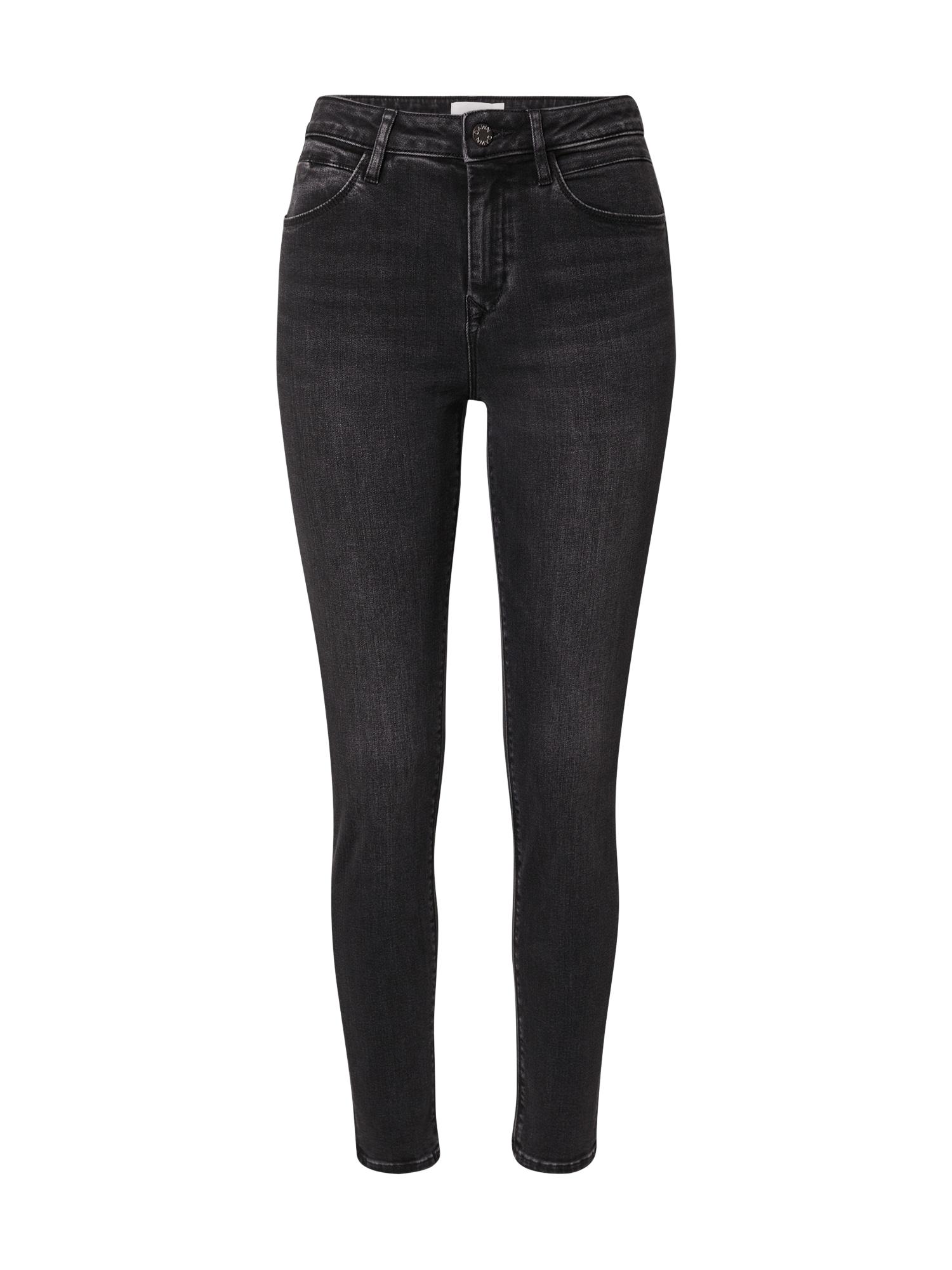 Dawn Džinsai juodo džinso spalva