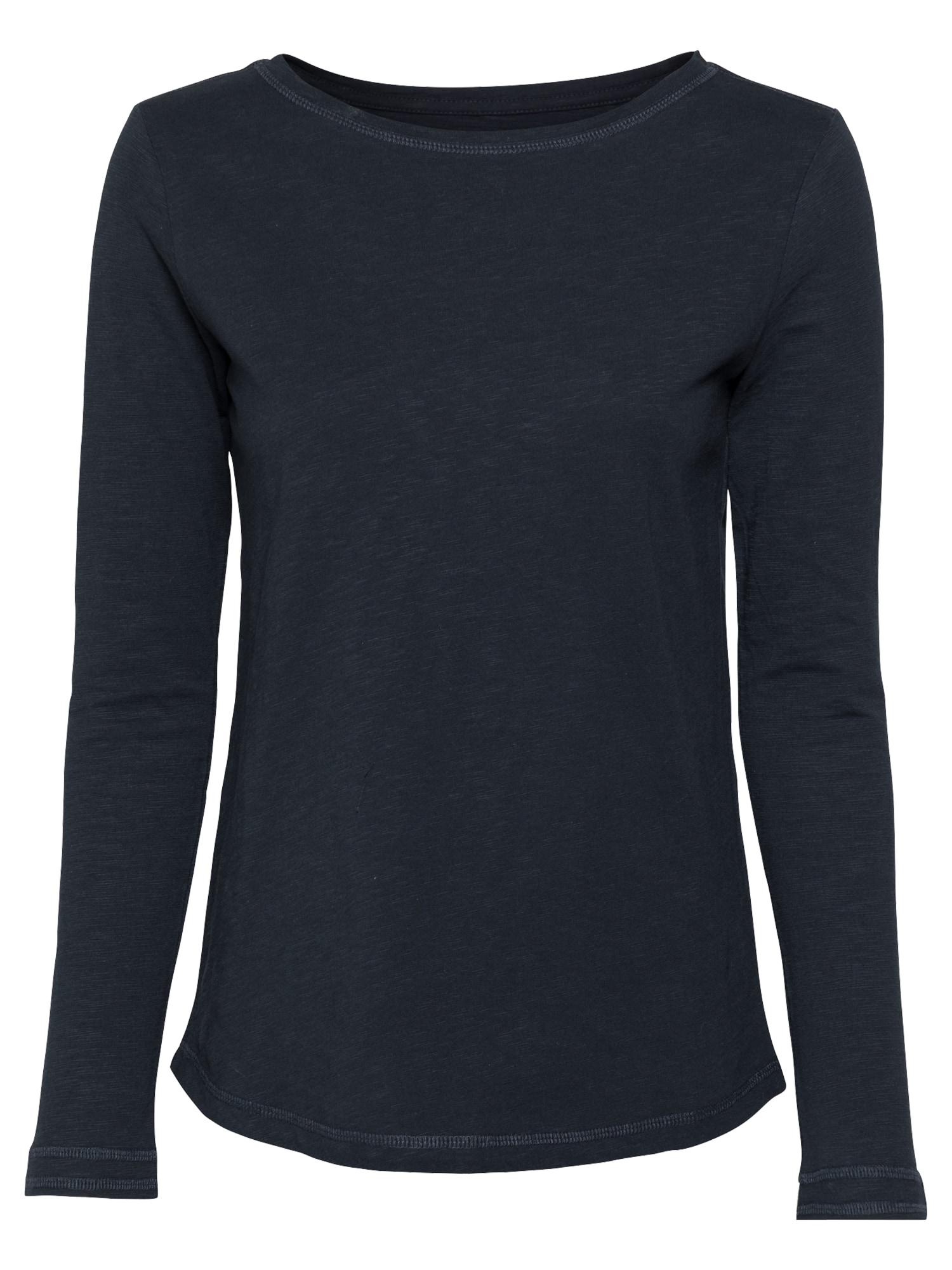 Thought Marškinėliai tamsiai mėlyna jūros spalva