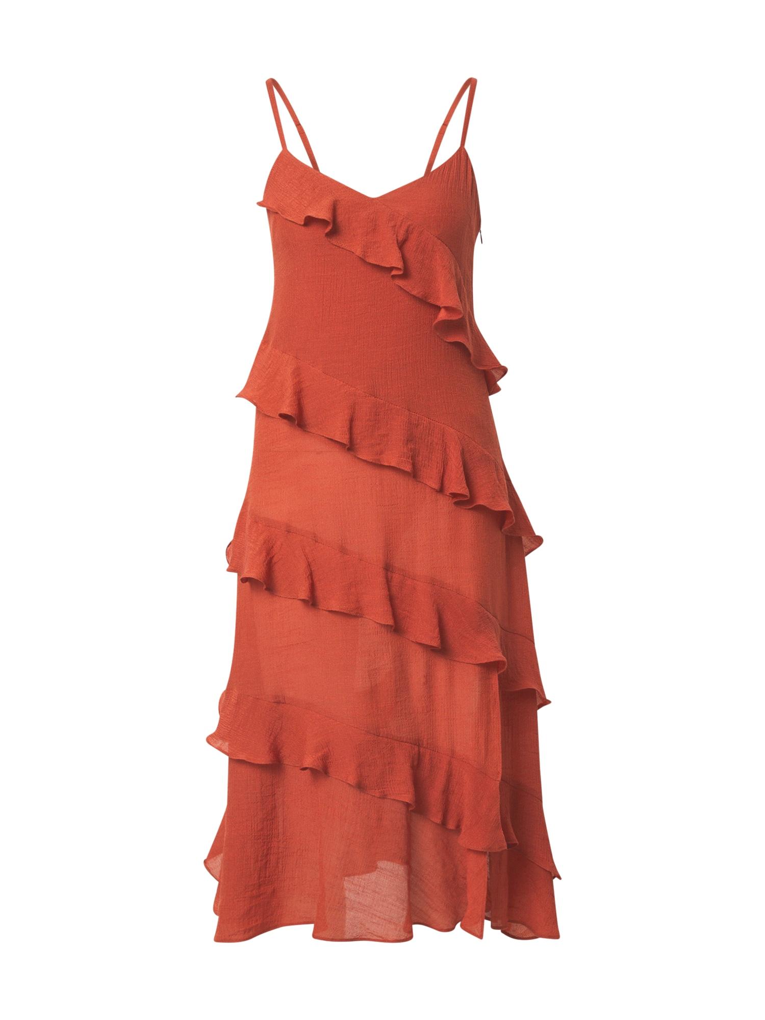 MINKPINK Šaty 'LEAH'  oranžově červená