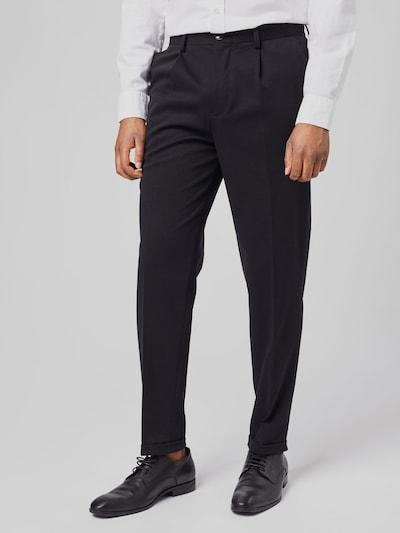 Selected Homme Jim elastische, elegante Karottenhose mit enger Passform