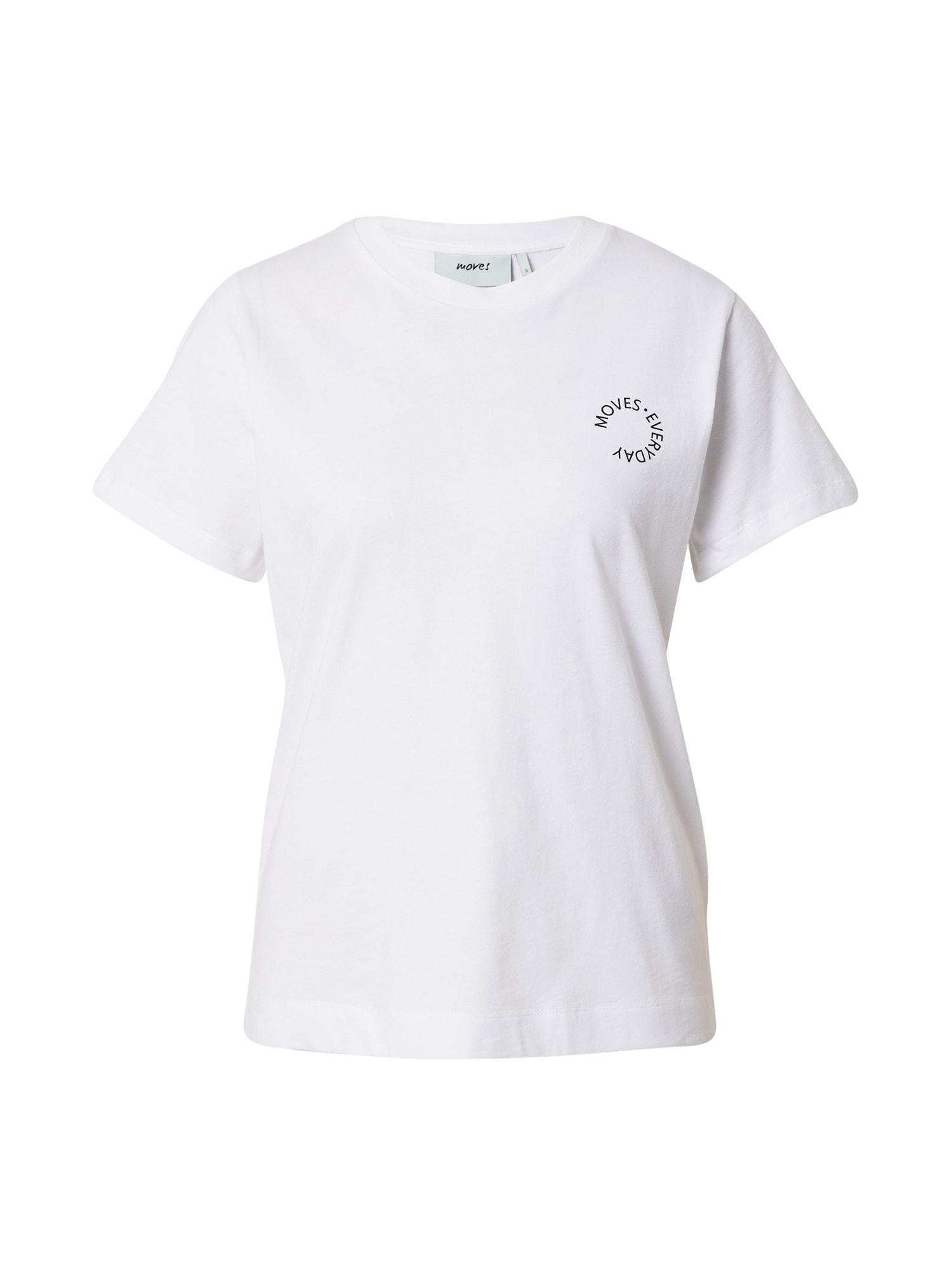 Moves Marškinėliai balta / juoda