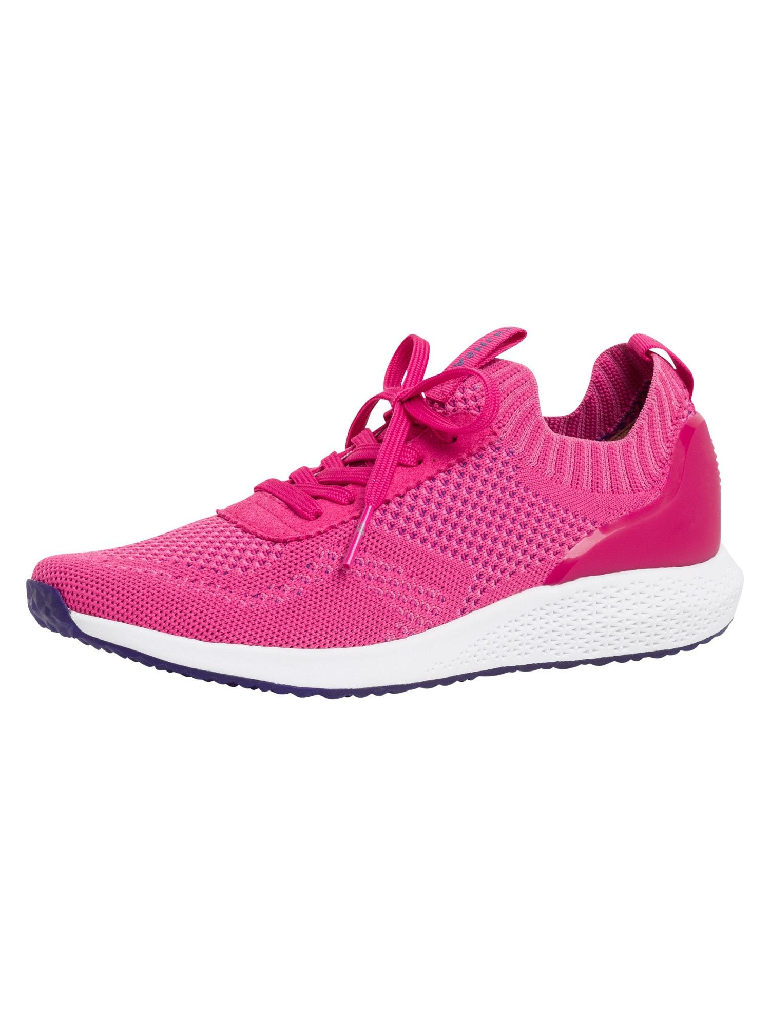Tamaris Fashletics Sneaker tamsiai rožinė