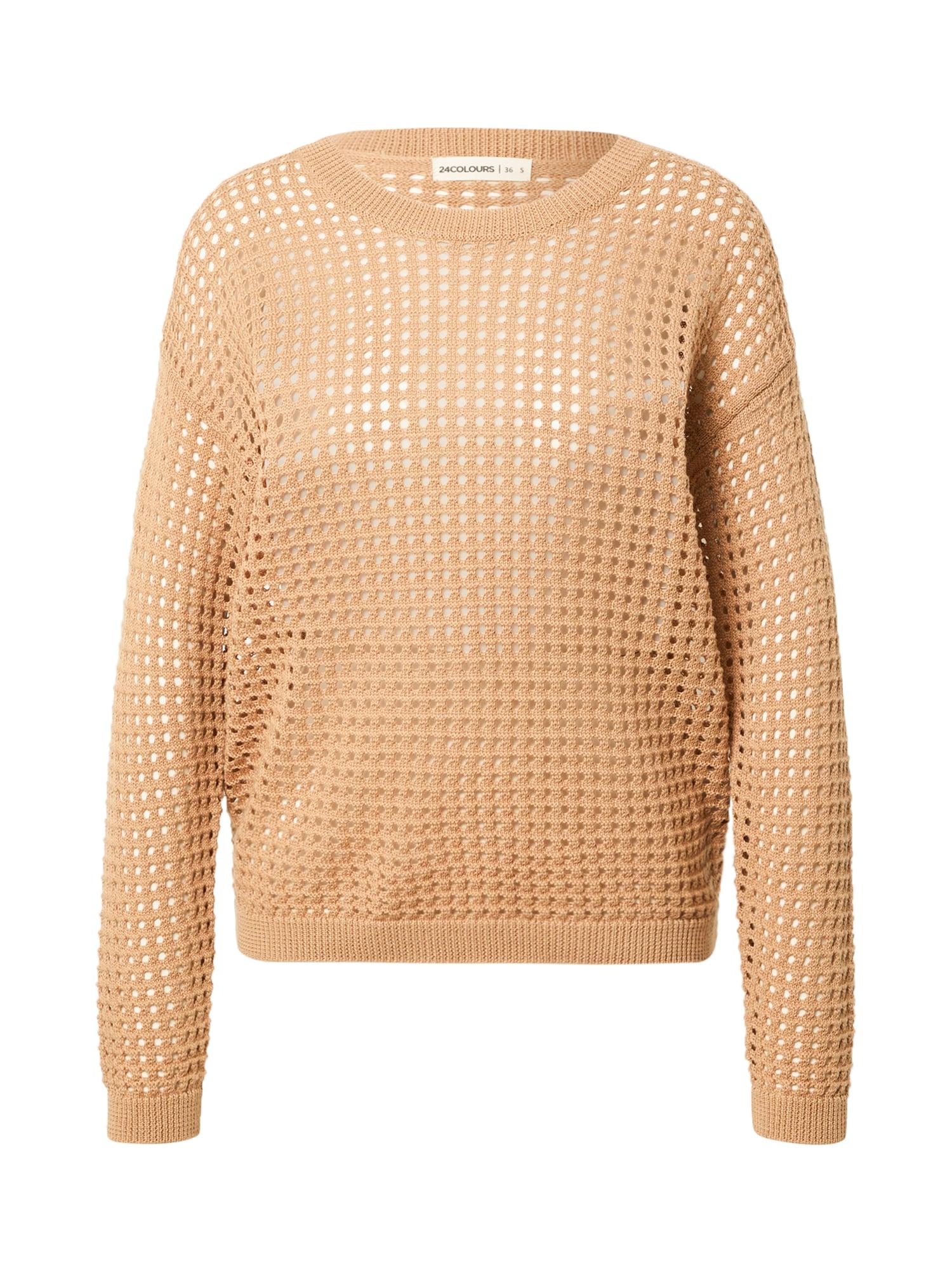 24COLOURS Megztinis šviesiai ruda