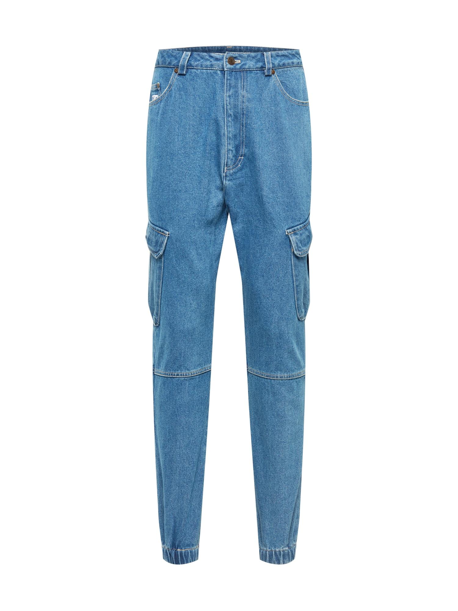 Karl Kani Darbinio stiliaus džinsai tamsiai (džinso) mėlyna