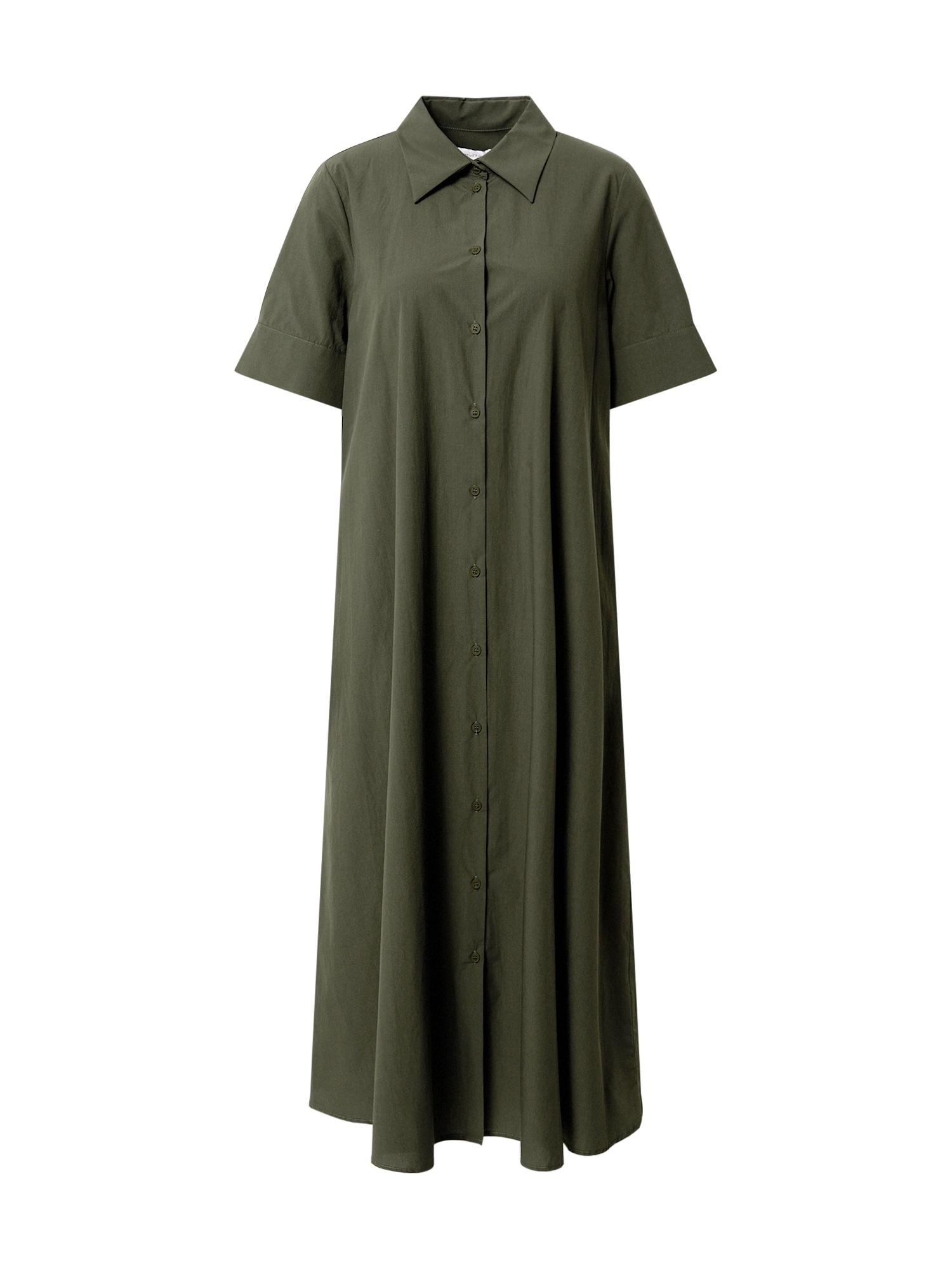 Ottod'Ame Palaidinės tipo suknelė rusvai žalia