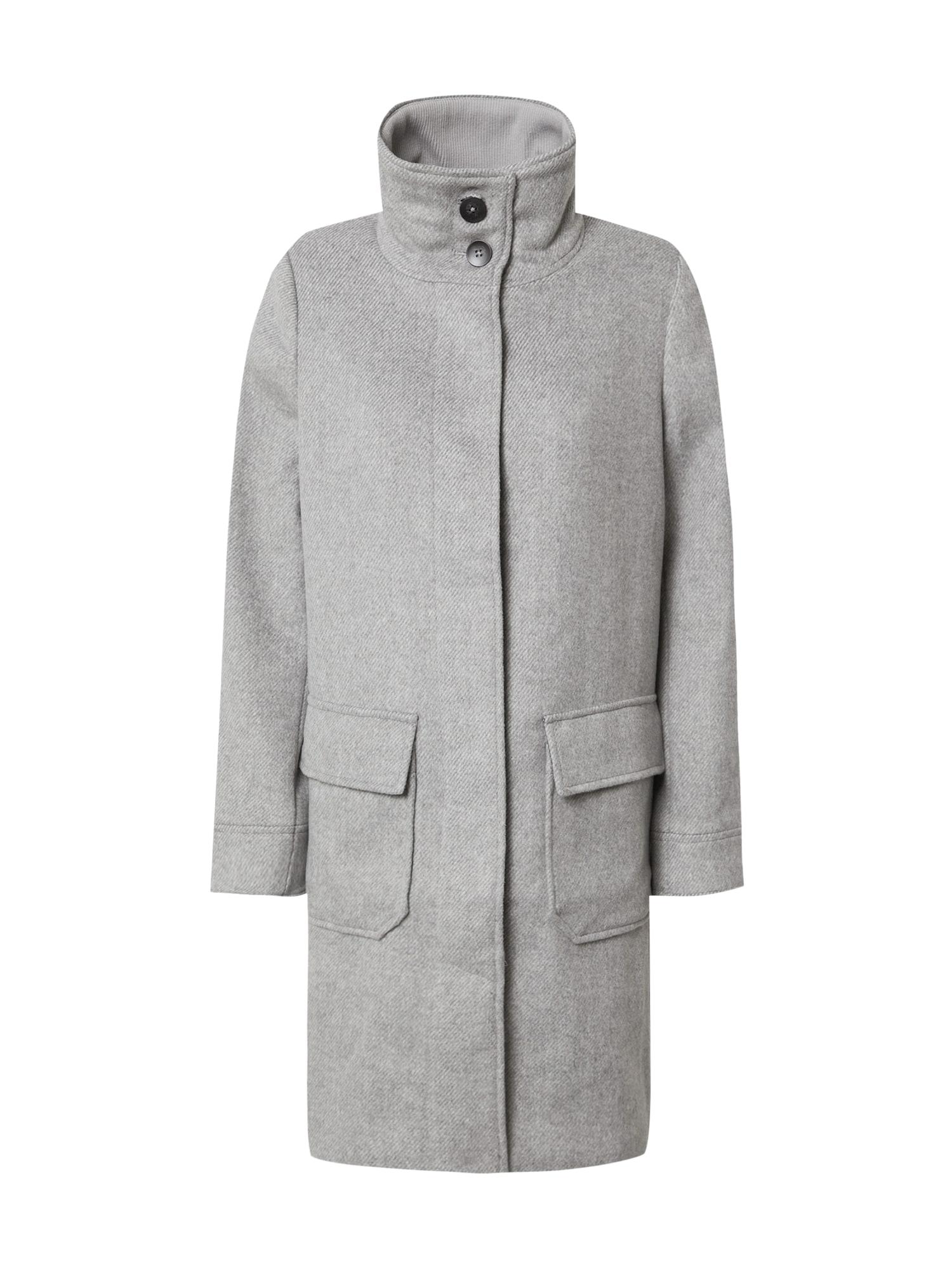 TOM TAILOR Přechodný kabát  světle šedá