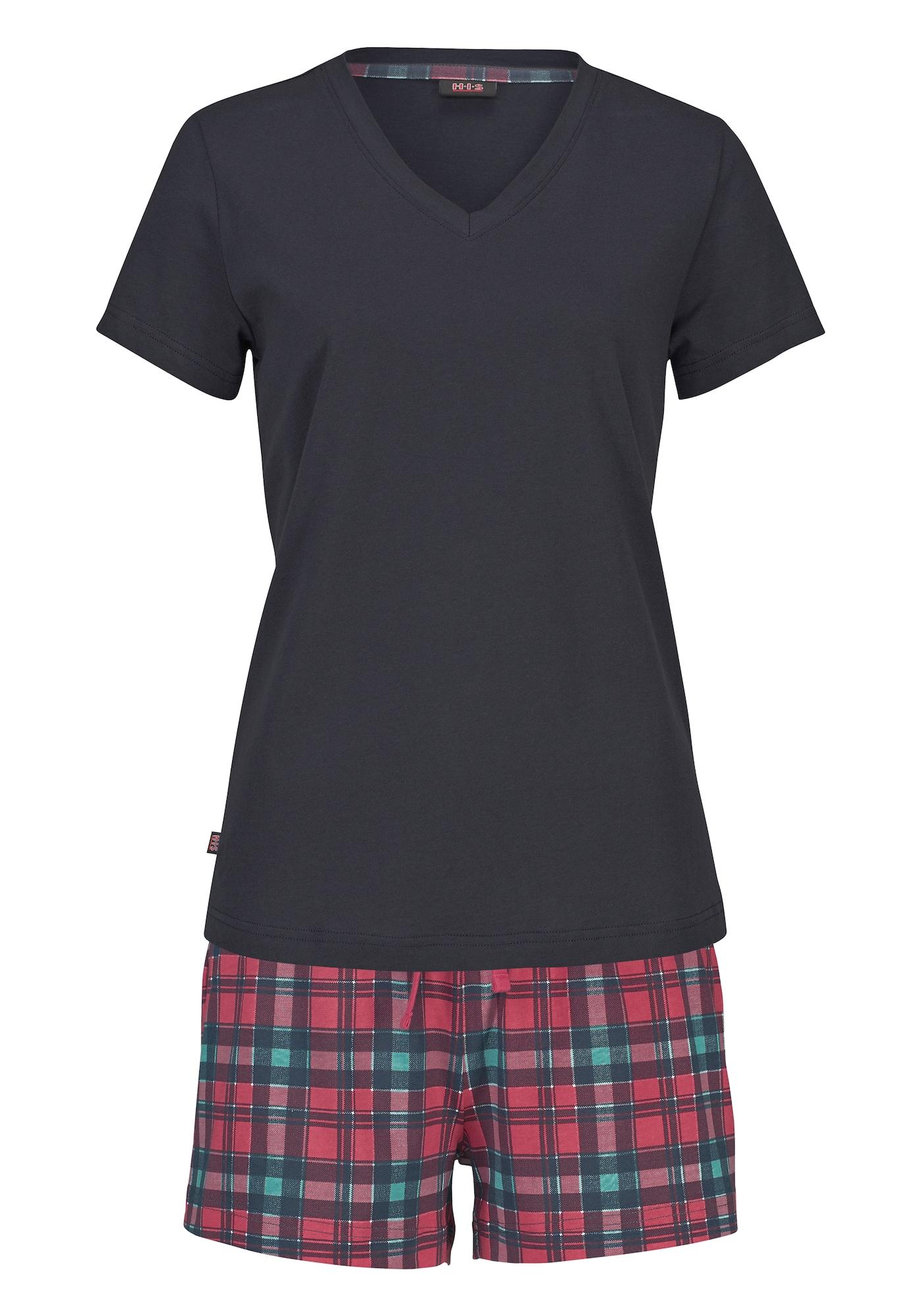 H.I.S Pižama su šortais rožinė / tamsiai mėlyna