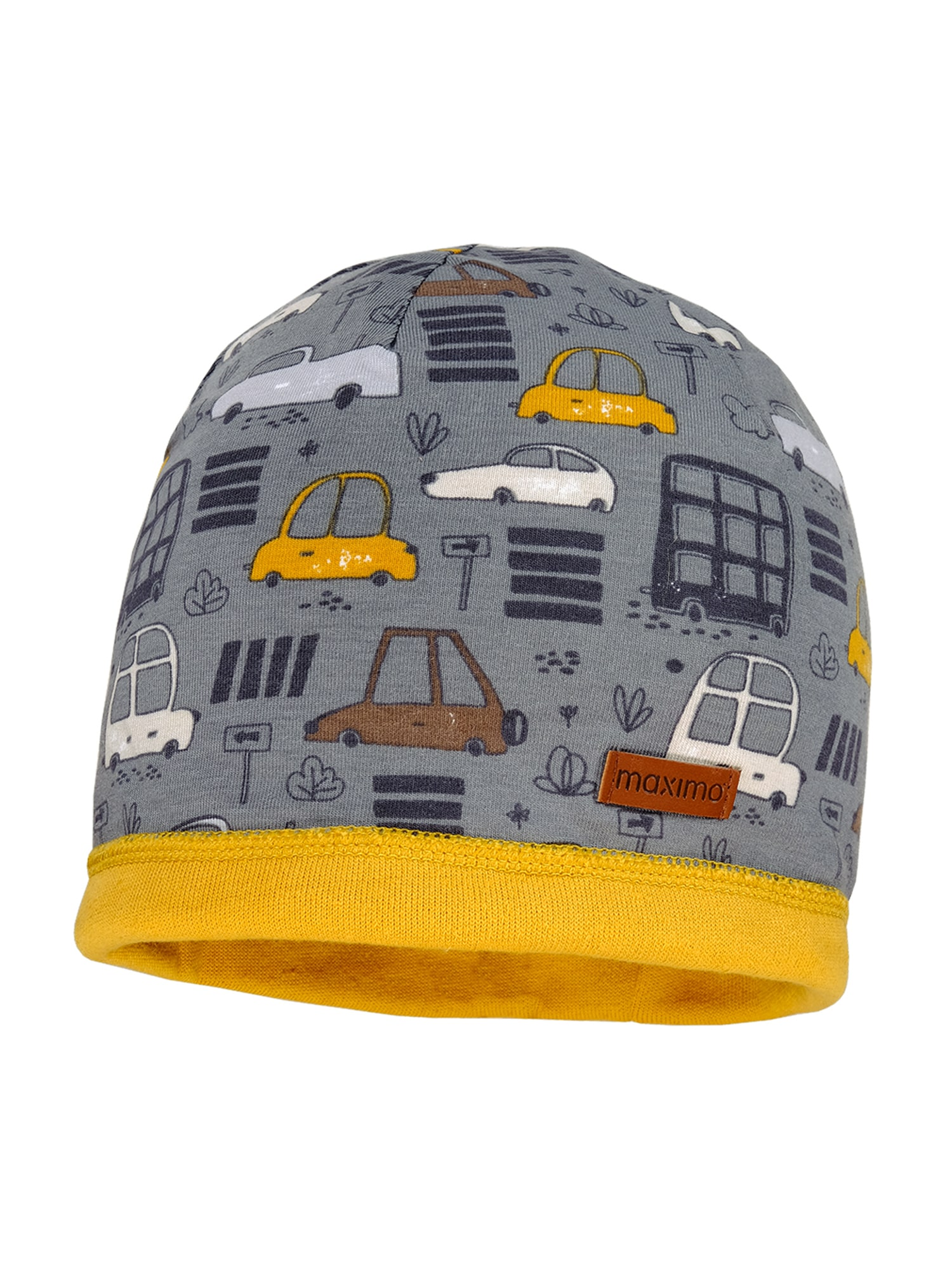 MAXIMO Megzta kepurė pilka / mišrios spalvos