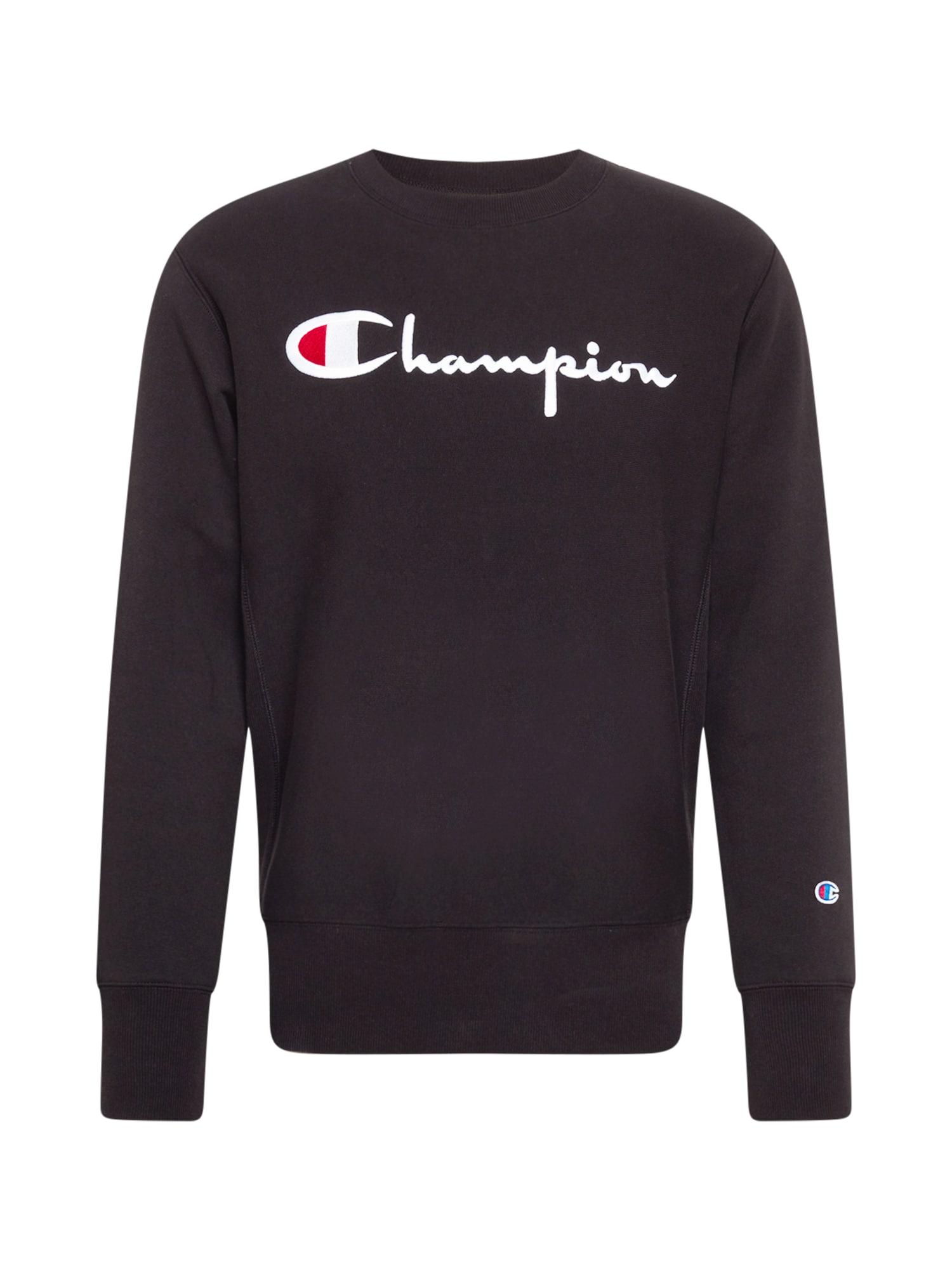 Champion Reverse Weave Megztinis be užsegimo juoda