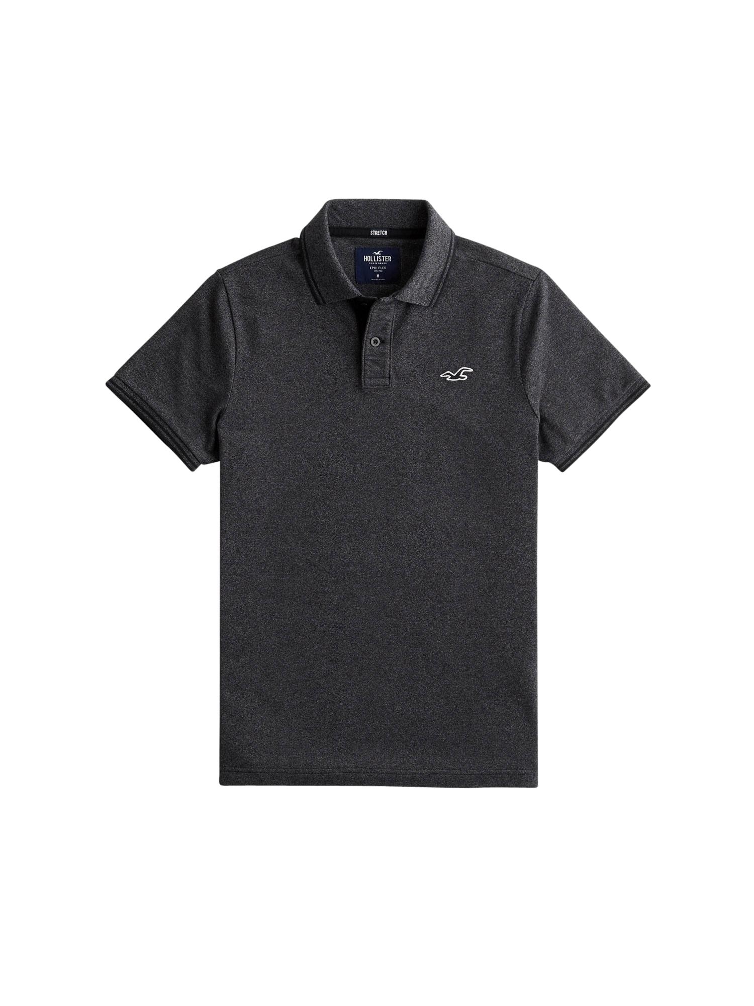 HOLLISTER Marškinėliai 'CORE' margai pilka