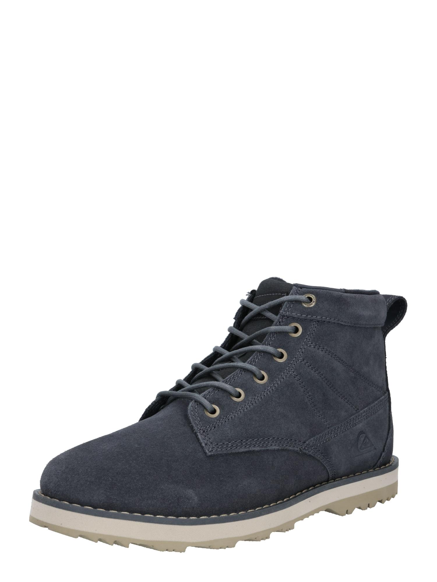 QUIKSILVER Šněrovací boty 'Gart'  tmavě šedá