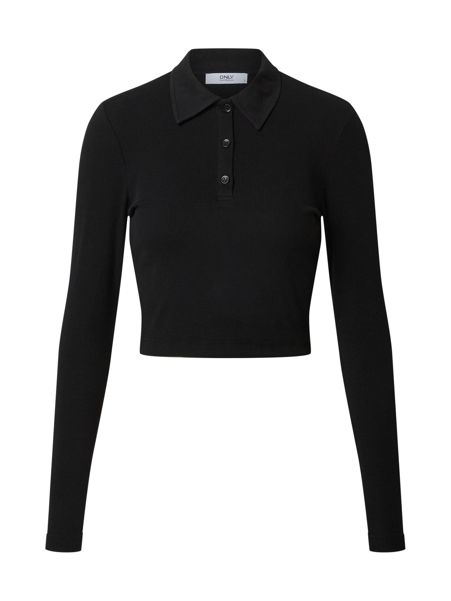 ONLY Marškinėliai 'WENDY' juoda